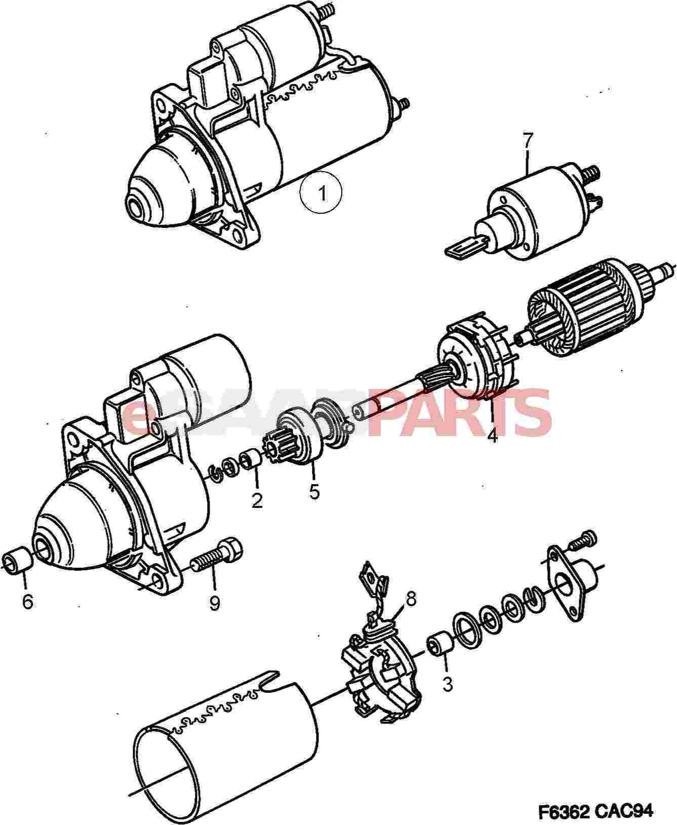Saab Trionic Wiring Diagram Starter Motor 6 Cylinder