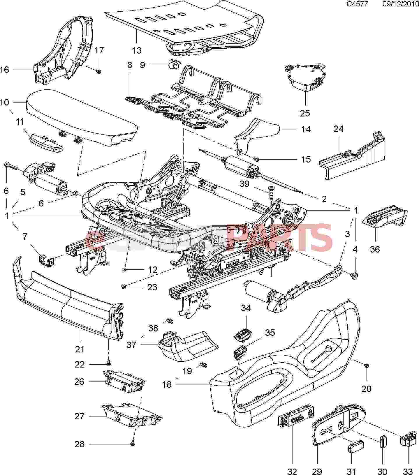 Terrific Esaabparts Com Saab 9 4X 168 Car Body Internal Parts Seats Wiring 101 Capemaxxcnl