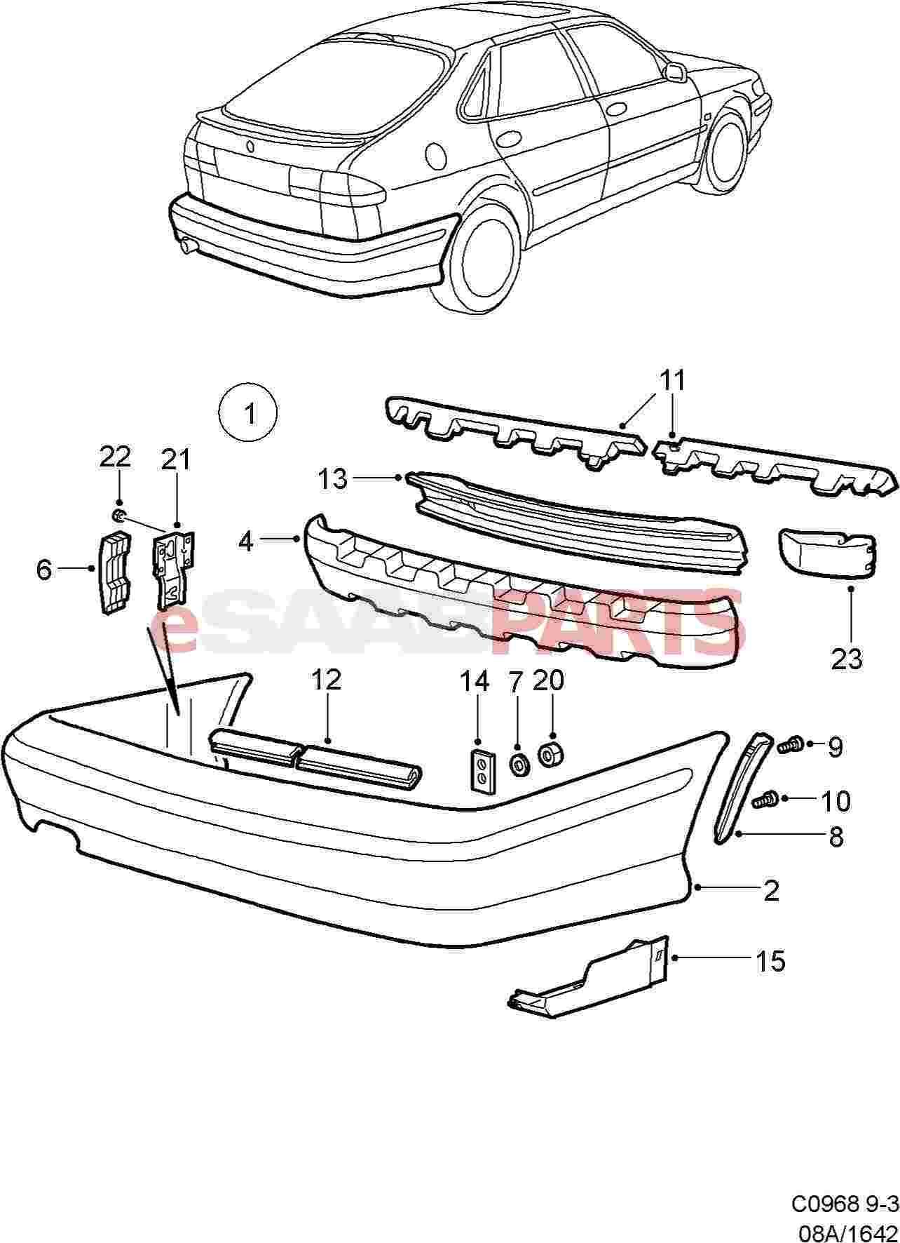4481834     SAAB    Pop Rivet     Saab    Parts from eSaabParts