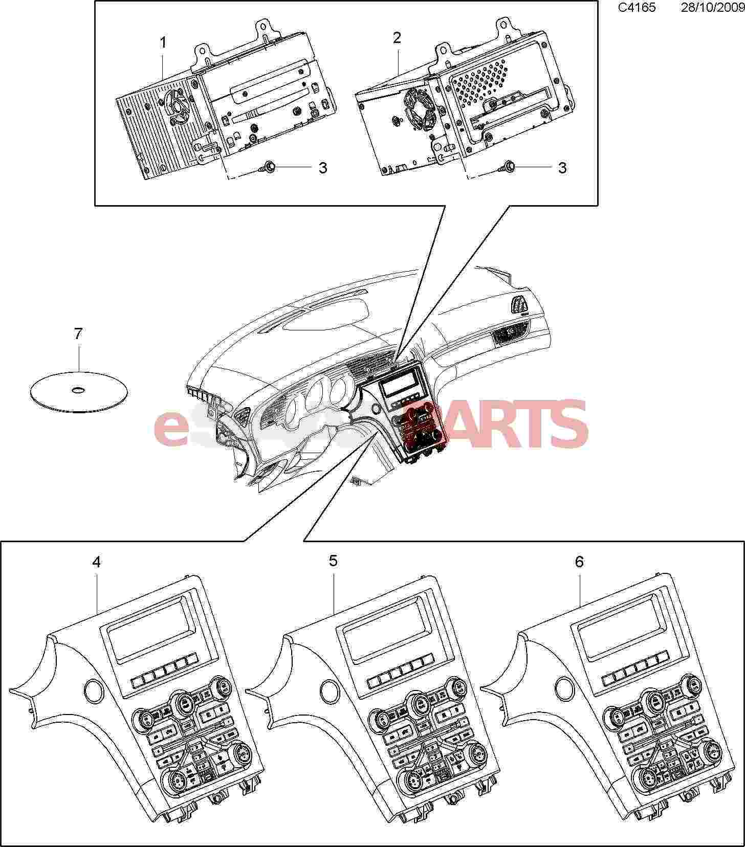 13331338] saab control panel genuine saab parts from esaabparts com13331338 Saab Control Panel Genuine Saab Parts From Esaabpartscom #1