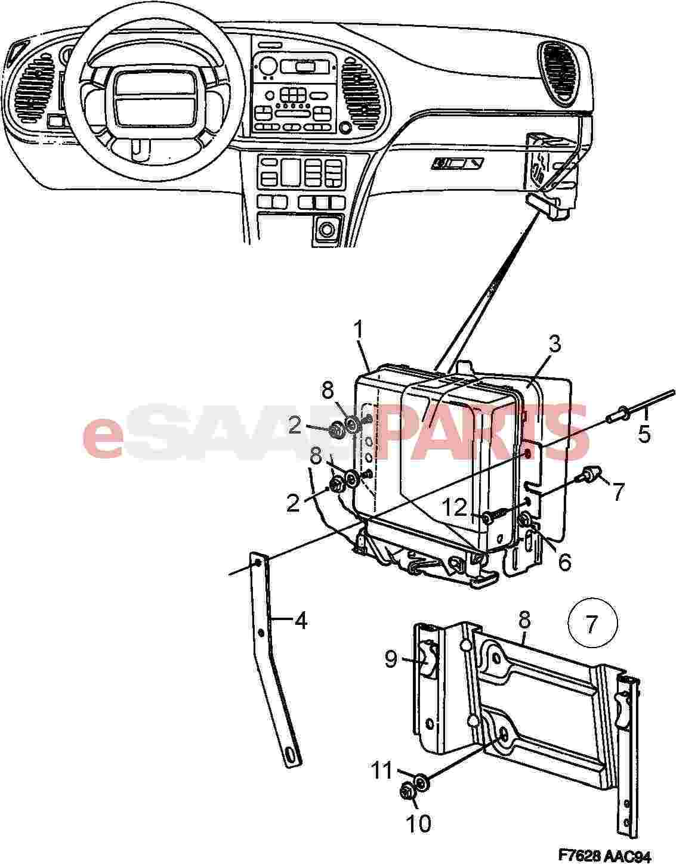 Saab Trionic Wiring Diagram Engine Control Module Motronic