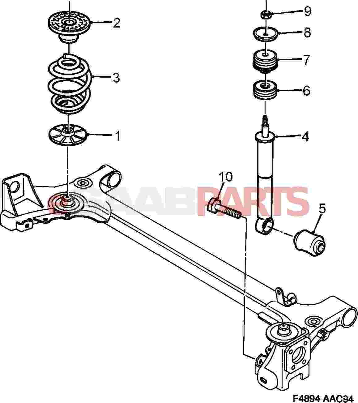 4244505 further Saab 900 Vacuum Diagram as well Viewparts further Saab Engine Diagram further . on 2003 saab 9 3 turbo rear suspension