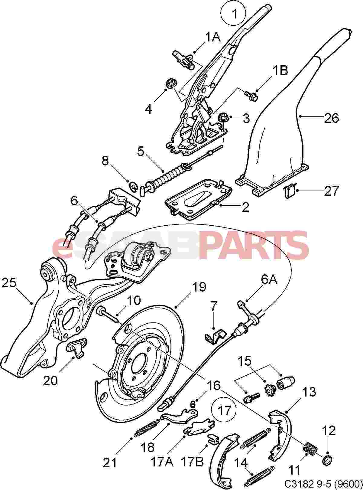 parking brake parts
