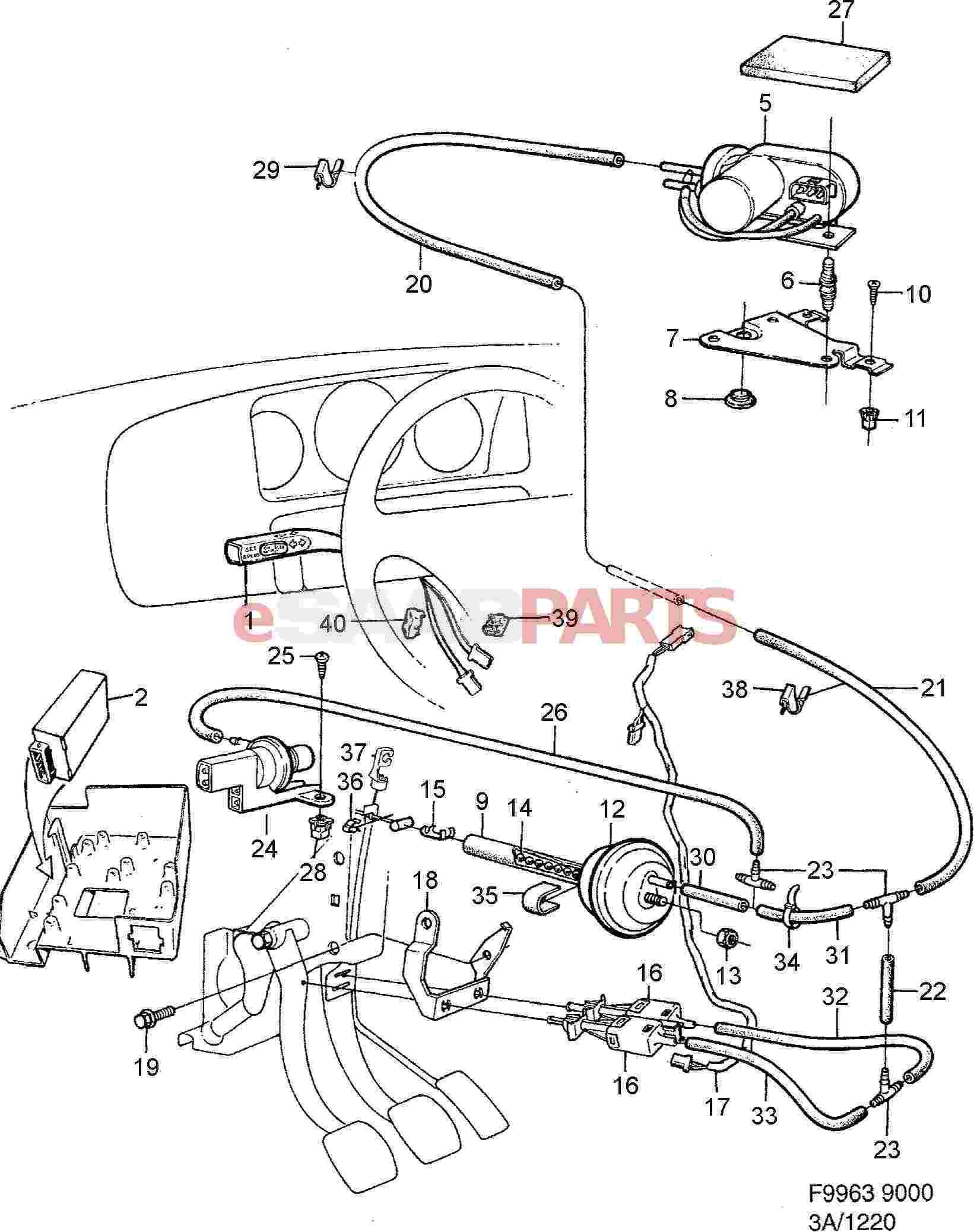 8587024  saab vacuum pump