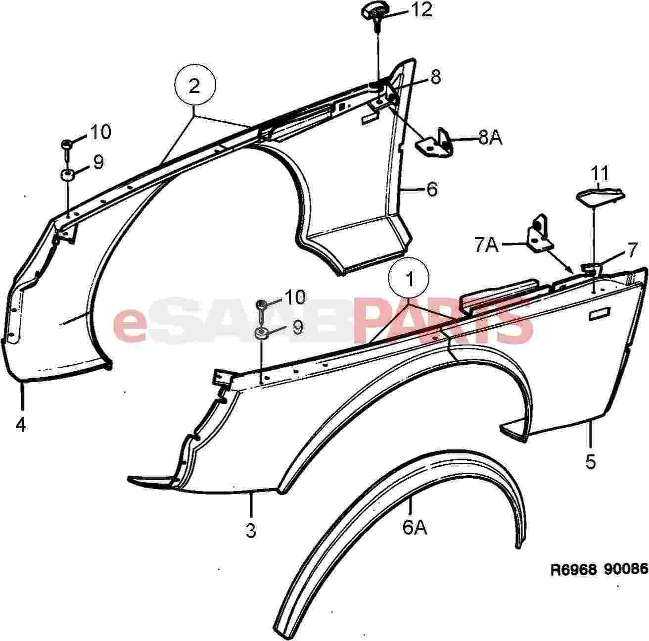 11 Engine Exterior 8 10hp together with Roof Parts Names furthermore Mopar Pressure Hose 55398915ab moreover Casement Window Assembly Diagram Hurd as well Car Body Parts Diagram. on exterior car part names