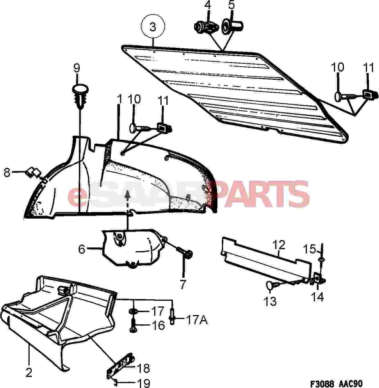 saab 9 5 headlight wiring wiring diagram and parts diagram images