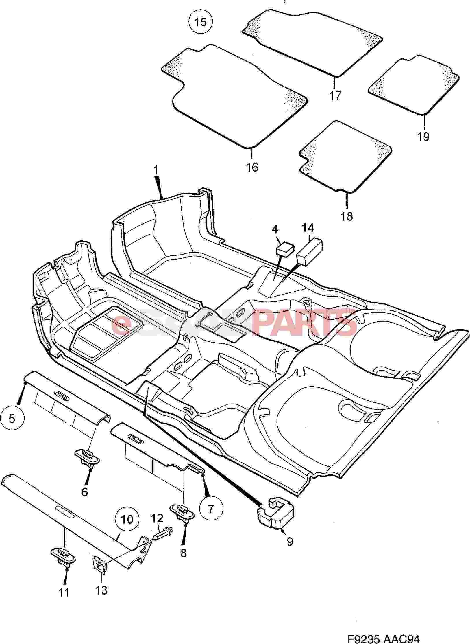 Saab 900 Floor Mats Taraba Home Review