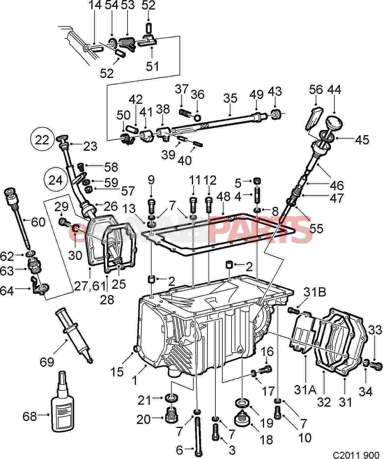 12755009 saab guide pin genuine saab parts from esaabparts com rh esaabparts com Saab 900 Engine Saab 900 Engine
