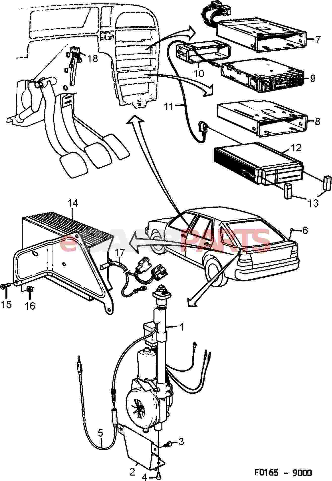 Saab Trionic Wiring Diagram Radio Electrical Aerial