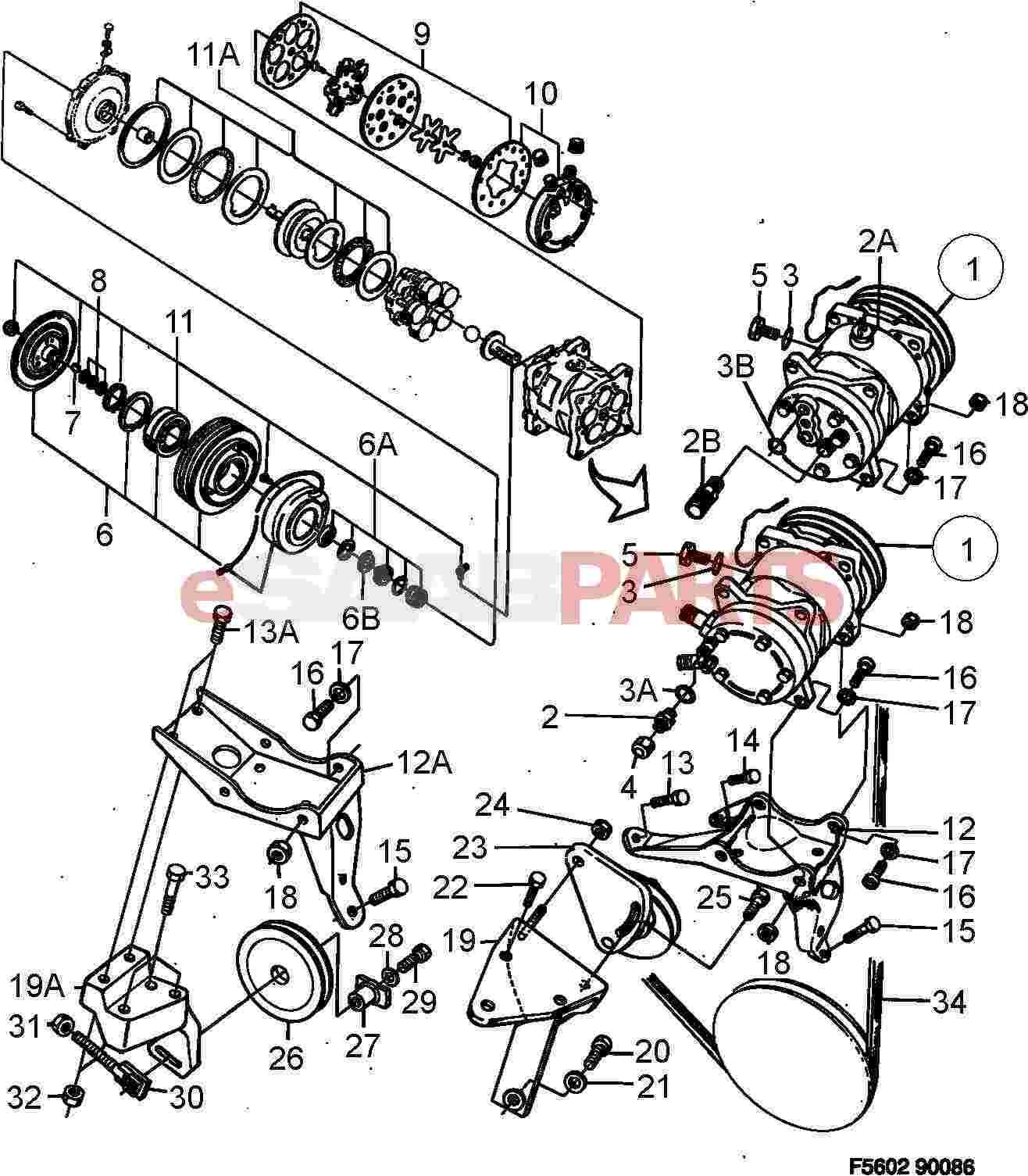 4074944  Saab Sealing Kit