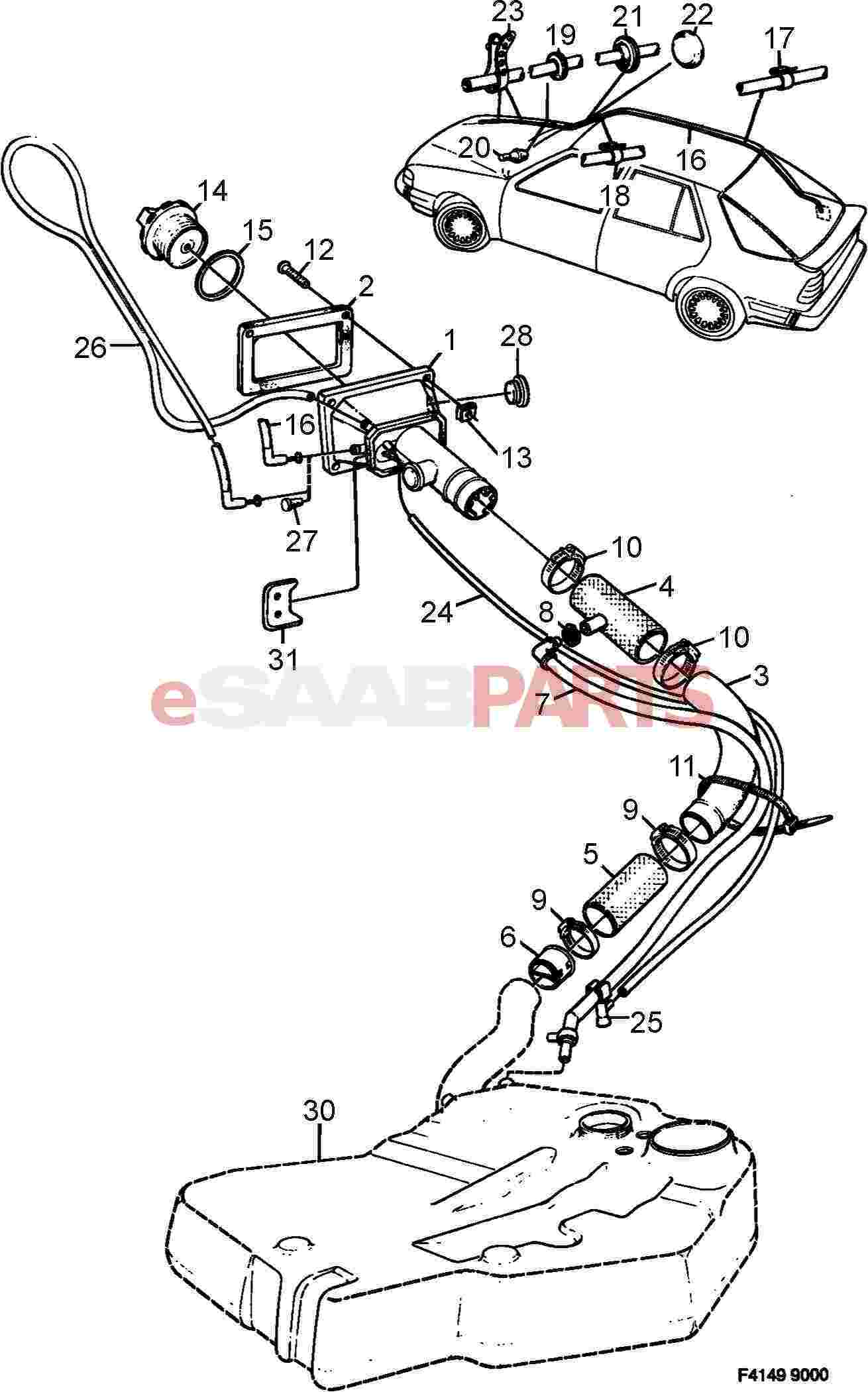 [1986 saab 9000 hydraulic fan pump removal] - service ... 1992 saab 900 wiring diagram