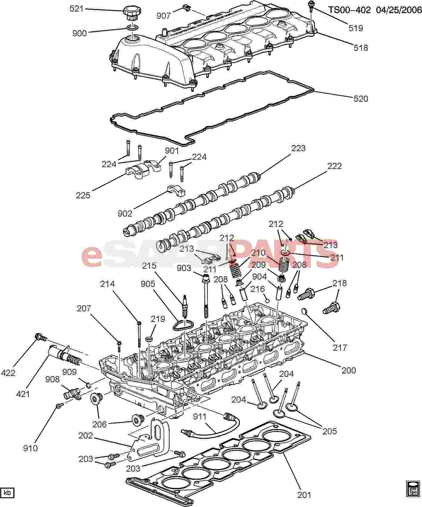Hummer H3 Wiring Diagram Engine Asm 42l L6 Part 2 Cylinder H
