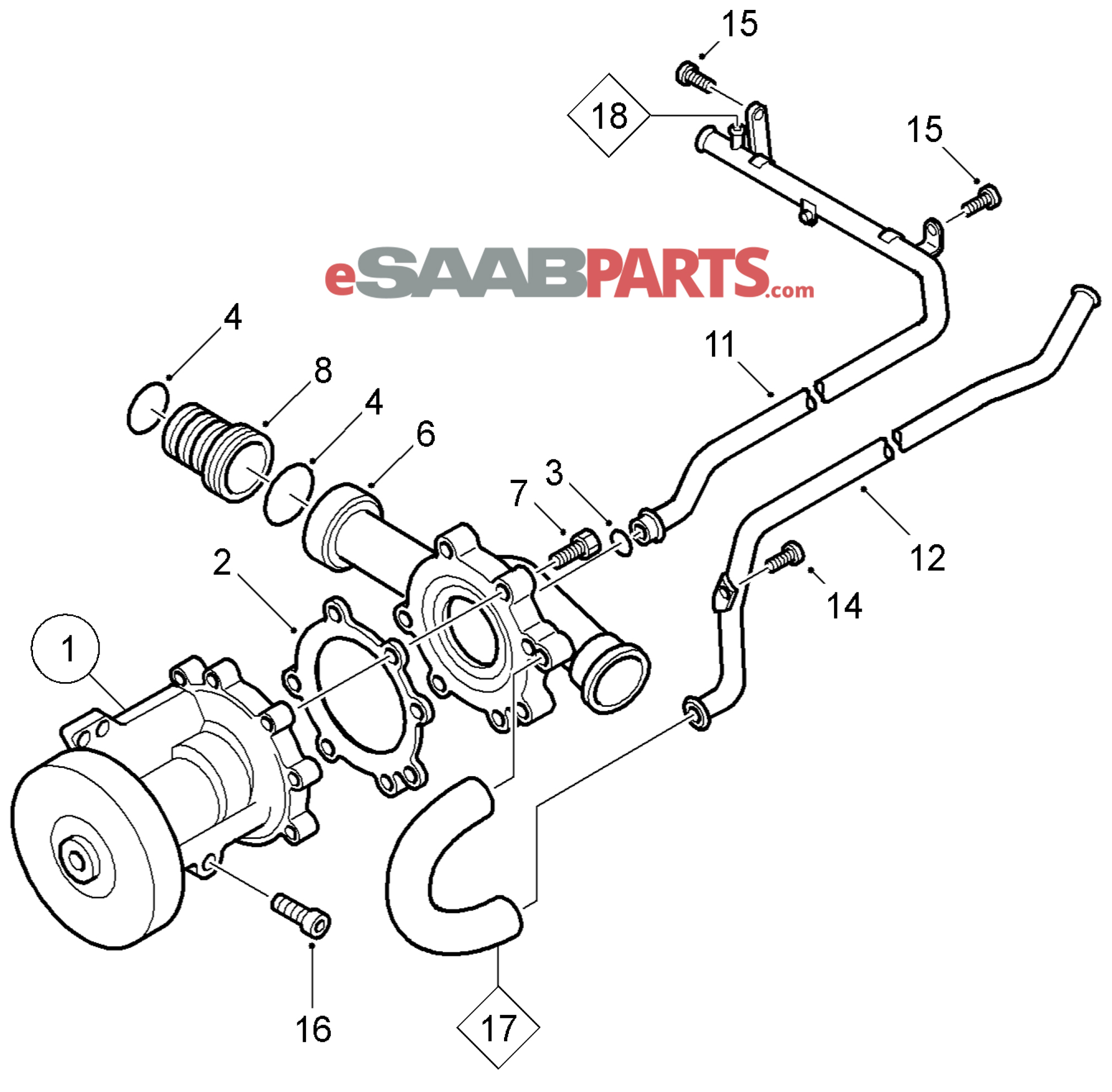 2001 bmw radiator hose diagram html