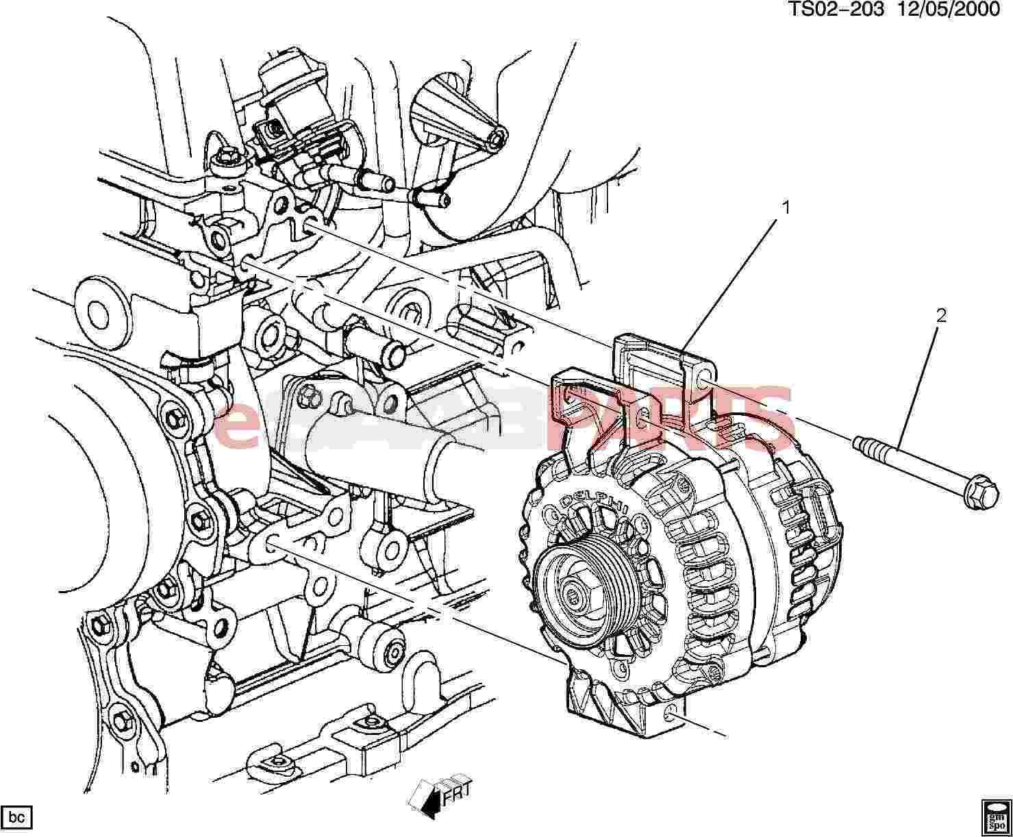 32835 esaabparts com saab 9 7x \u003e electrical parts \u003e alternator & related