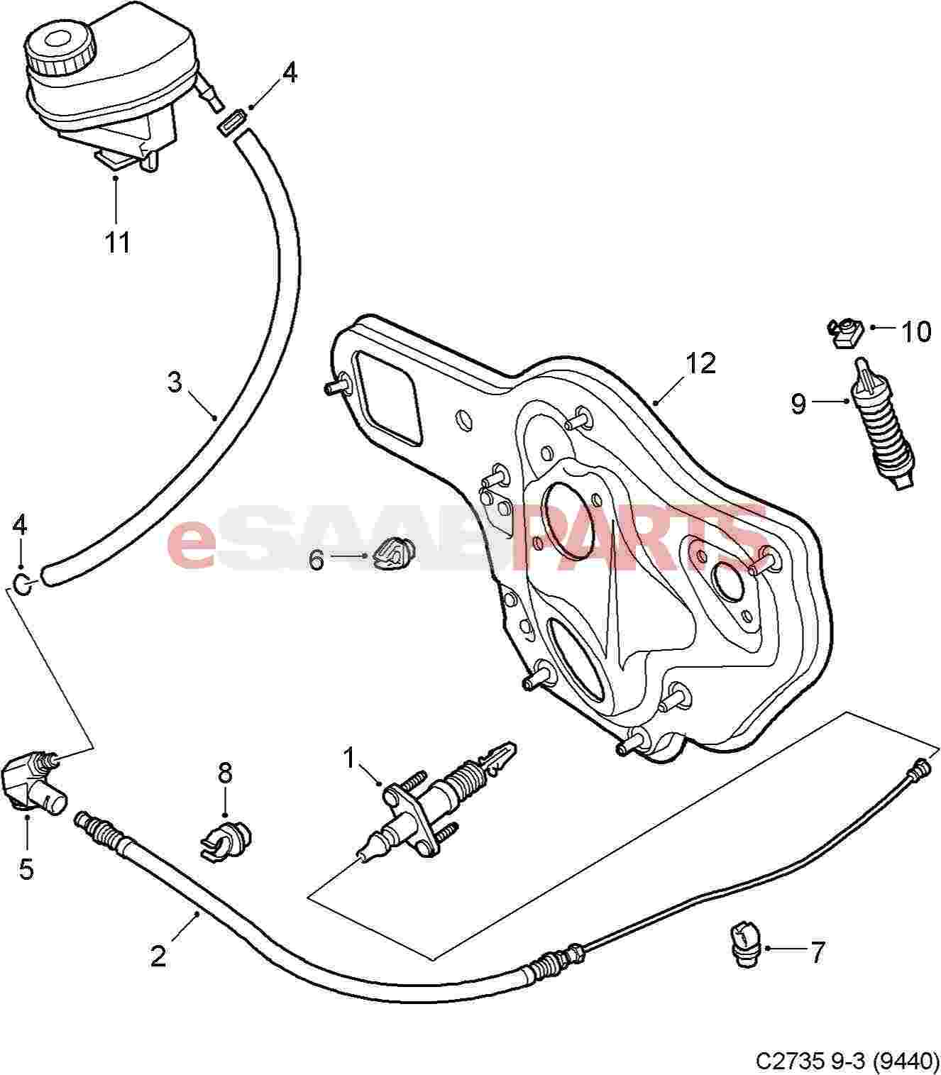 Parts.com® | Saab 9-3 Steering Gear - Linkage OEM PARTS