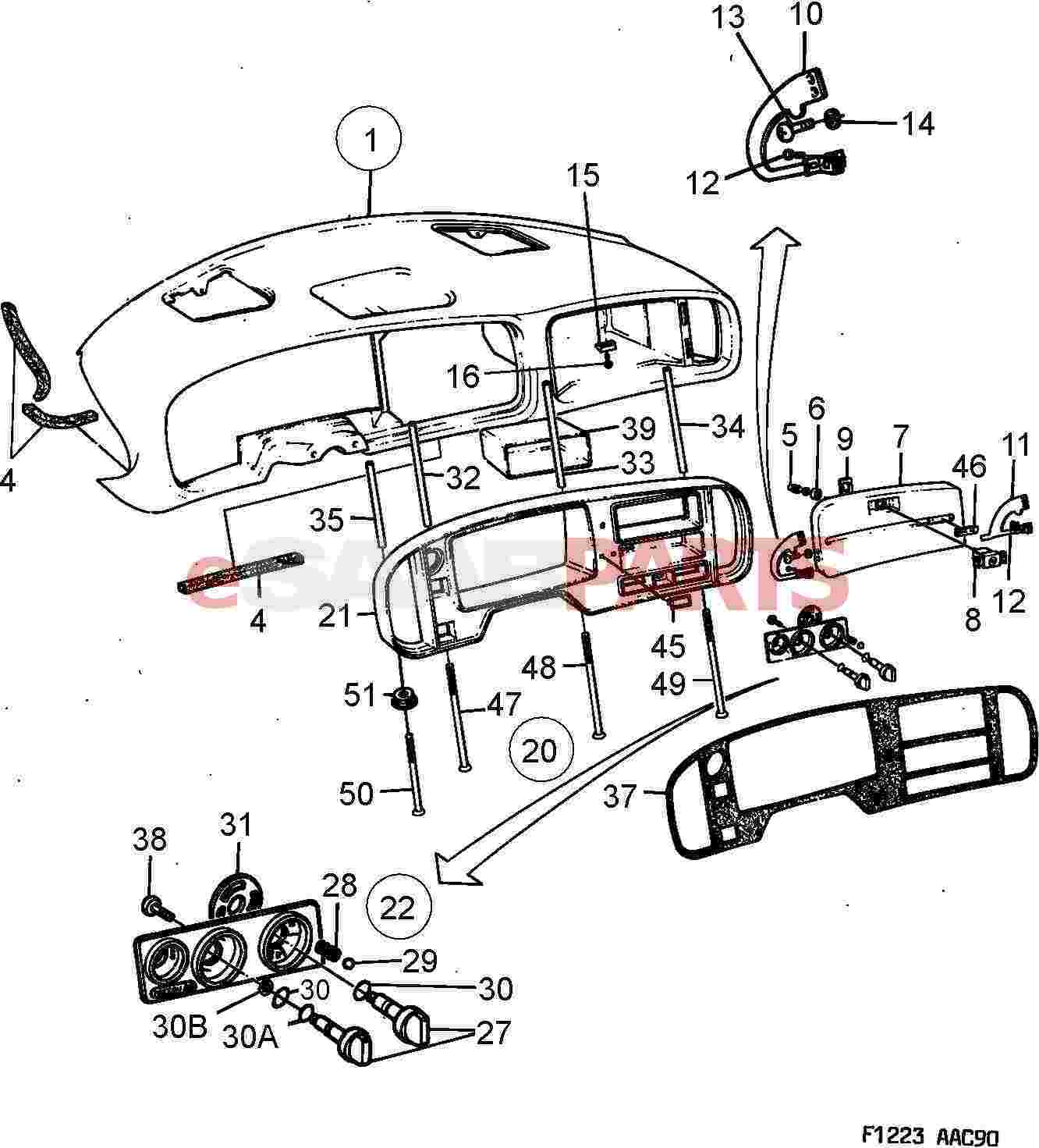 esaabparts com saab 900 \u003e car body internal parts \u003e dashhowdy! if you\u0027d like to be notified when 9425869 is available again, simply provide your email below thanks, the esaabparts com team part number