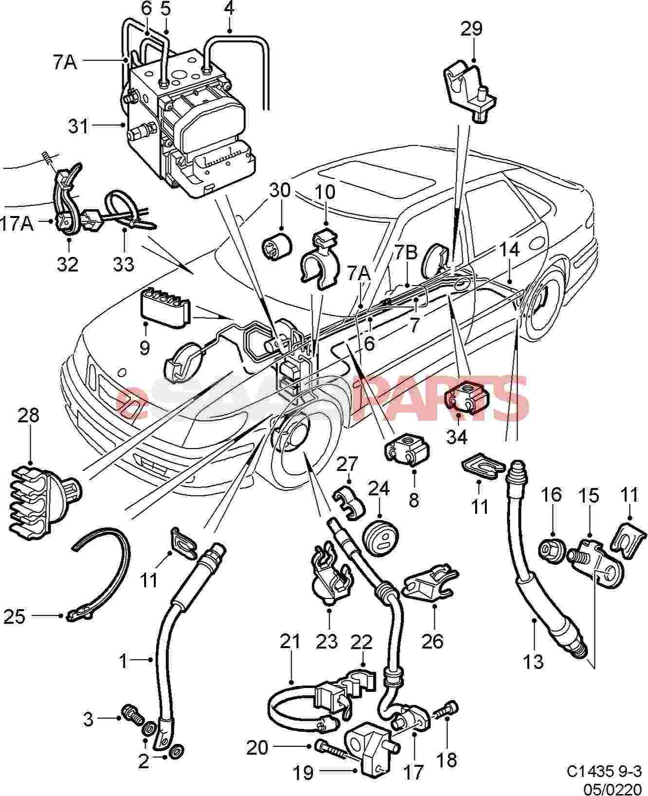 saab tie strap genuine parts from esaabparts com audio wiring diagram get free image about