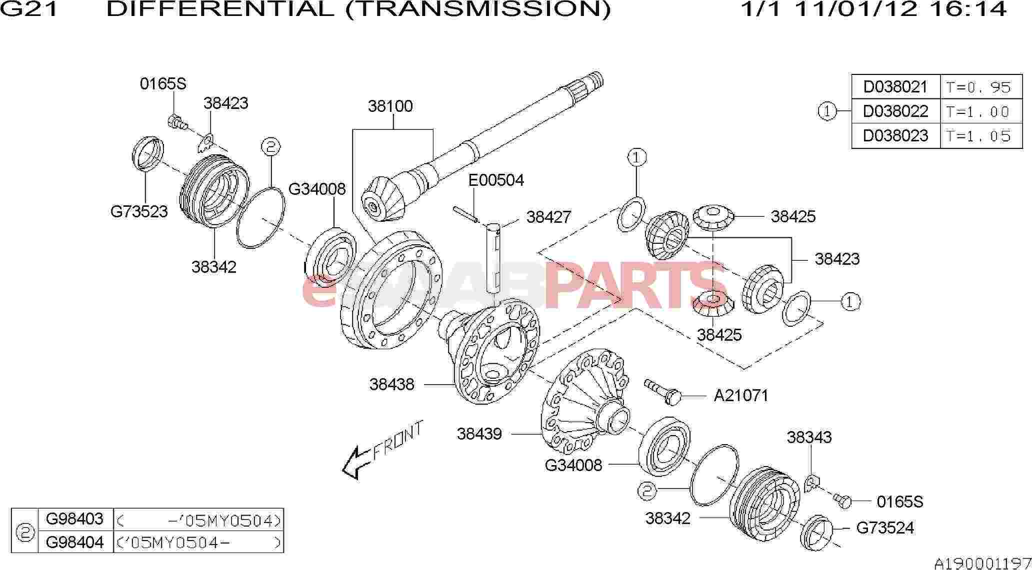 gear set diagram [32010087] saab gear set-hypoid - genuine saab parts from ... drum set diagram