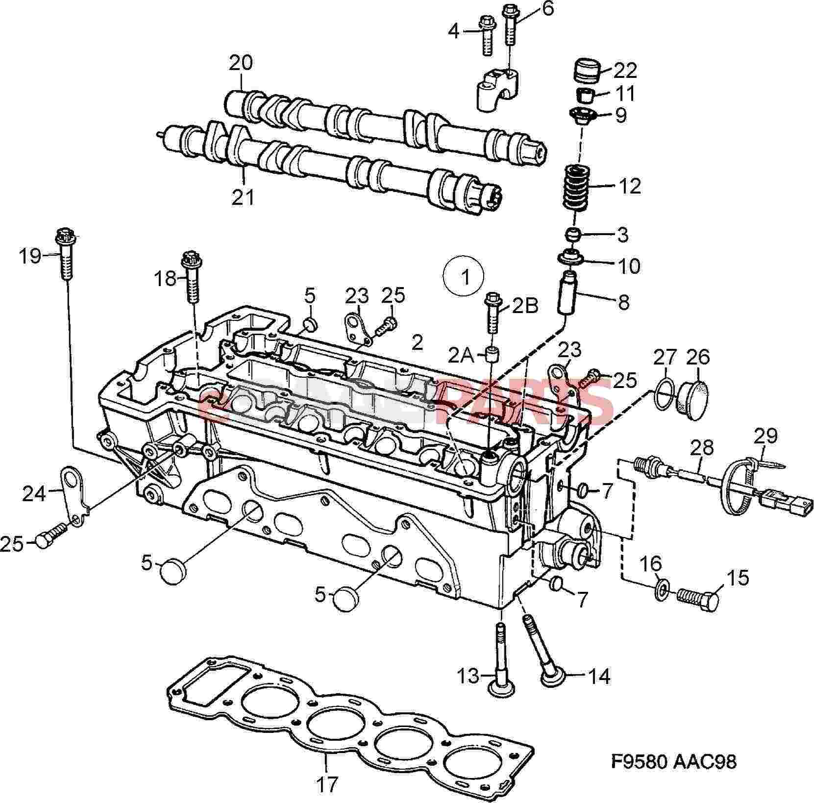 90490477  saab engine coolant temperature sensor