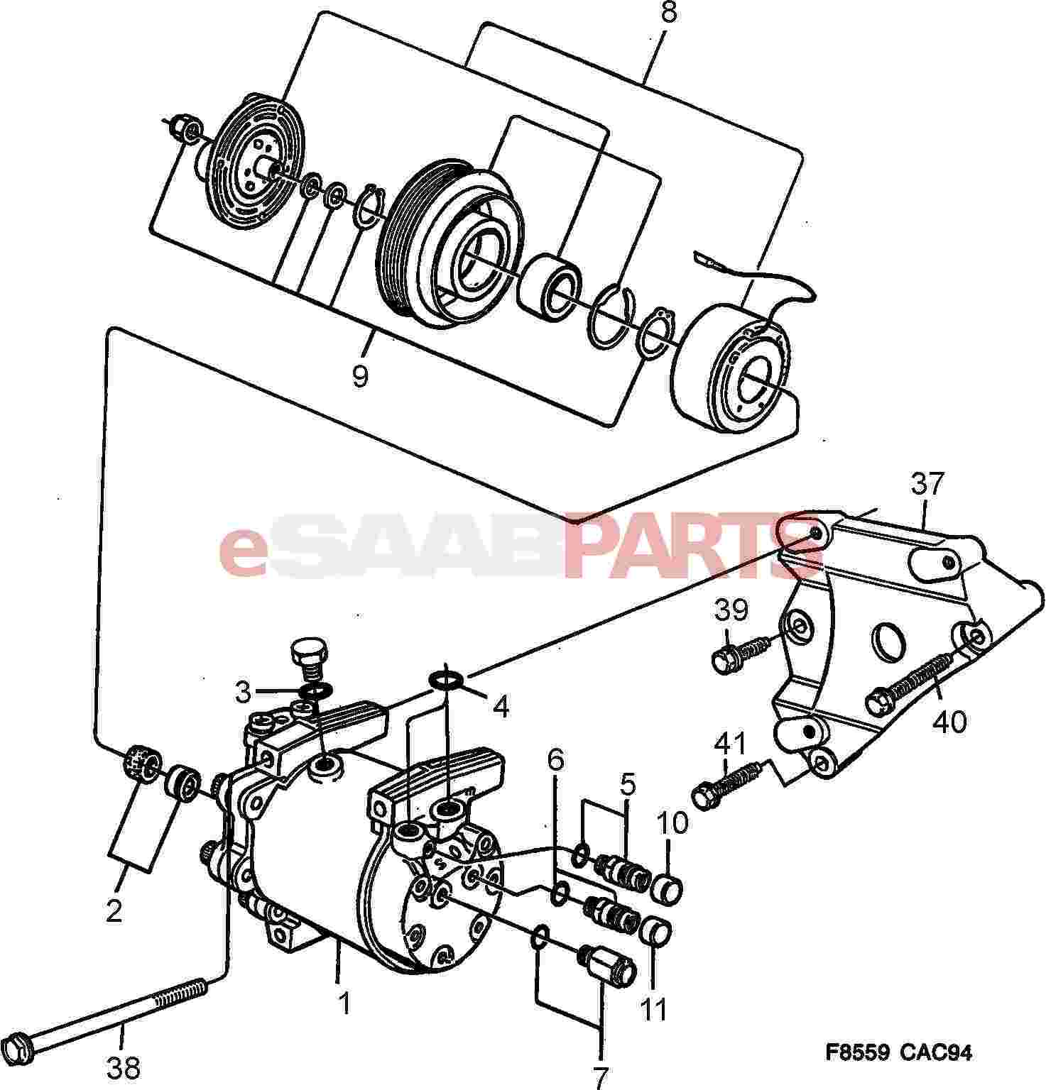 [1993 saab 900 diagram showing brake line] - 9529975 saab ... 1992 saab 900 wiring diagram saab 900 wiring diagram big #13