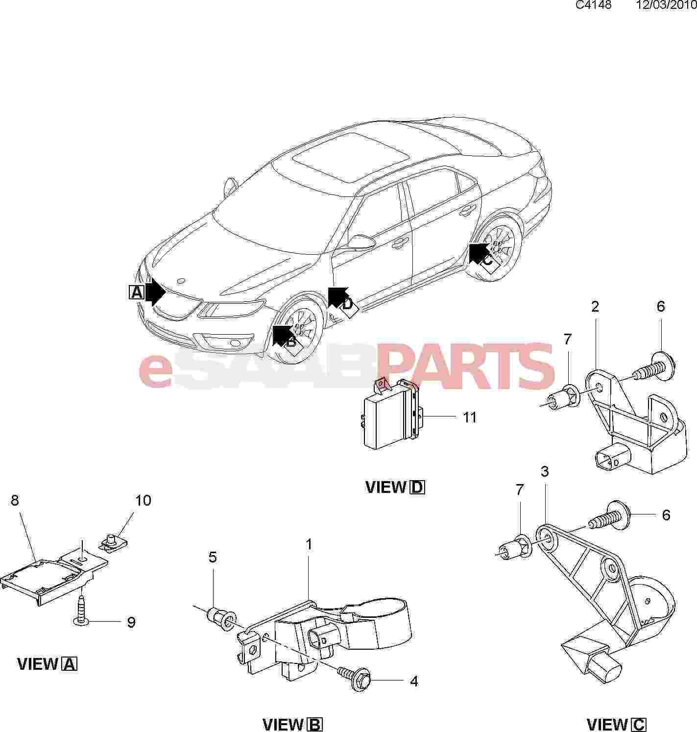 20984732  Saab Retaining Plate