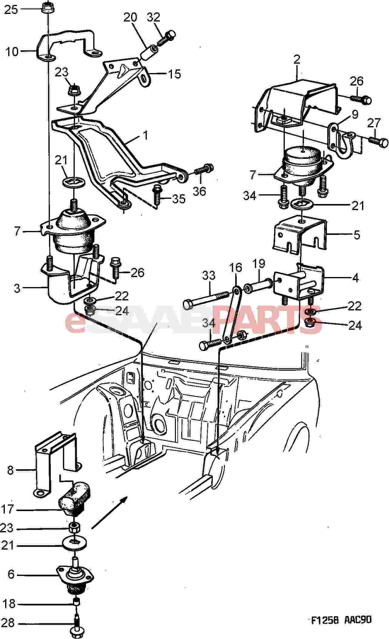 FEIPARTS 2 pieces suspension parts Front Sway Bar 99-09 for Saab 42983 01-02 for Saturn L100 01-03 for L200 01-05 for L300 00 for LS LS1 LS2 00 for LW1 00 for LW2 01-03 for LW200 01-03 for LW300