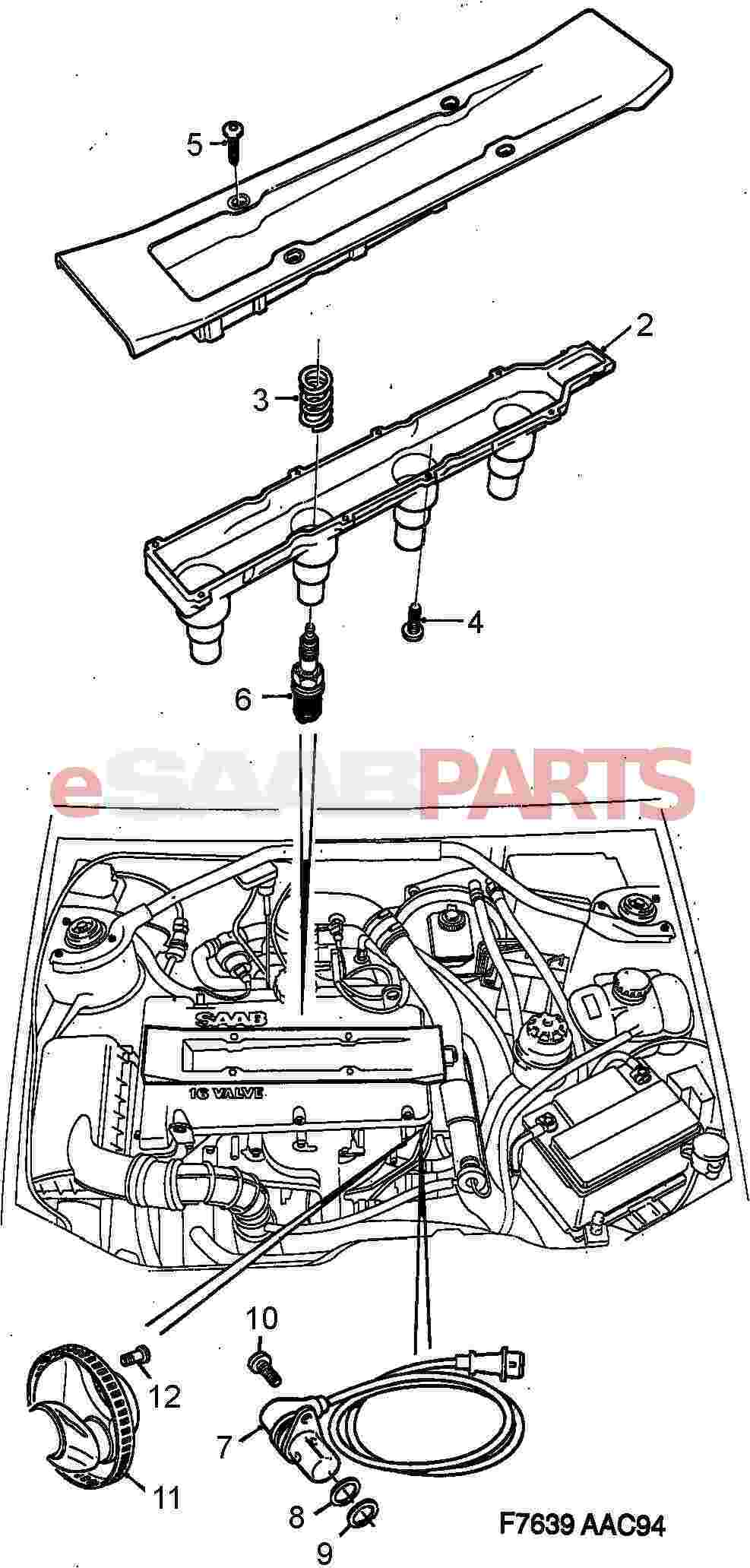 55561132  saab ignition discharge module