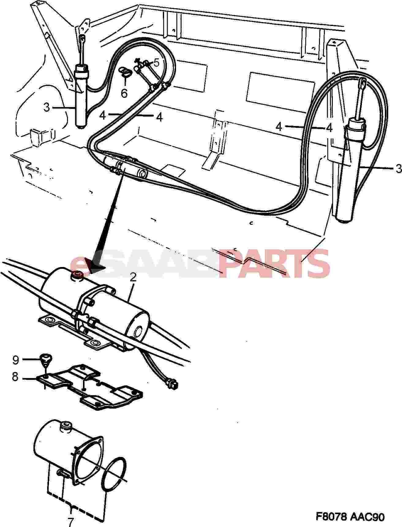 esaabparts com saab 900 u003e car body external parts u003e convertible rh esaabparts com 1987 Saab 900 Convertible Saab 900 Classic