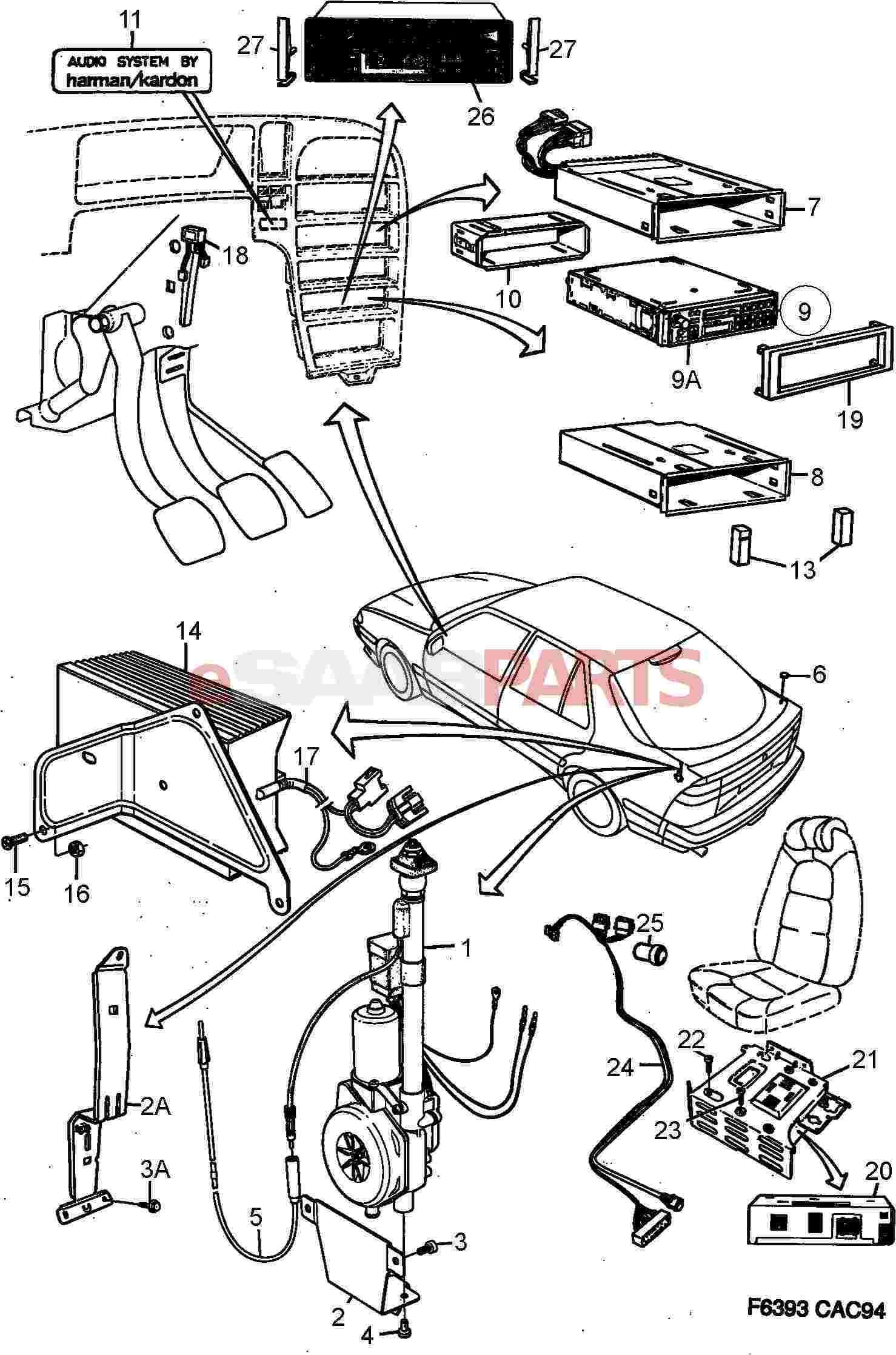 Saab Trionic Wiring Diagram Radio Electrical Aerial