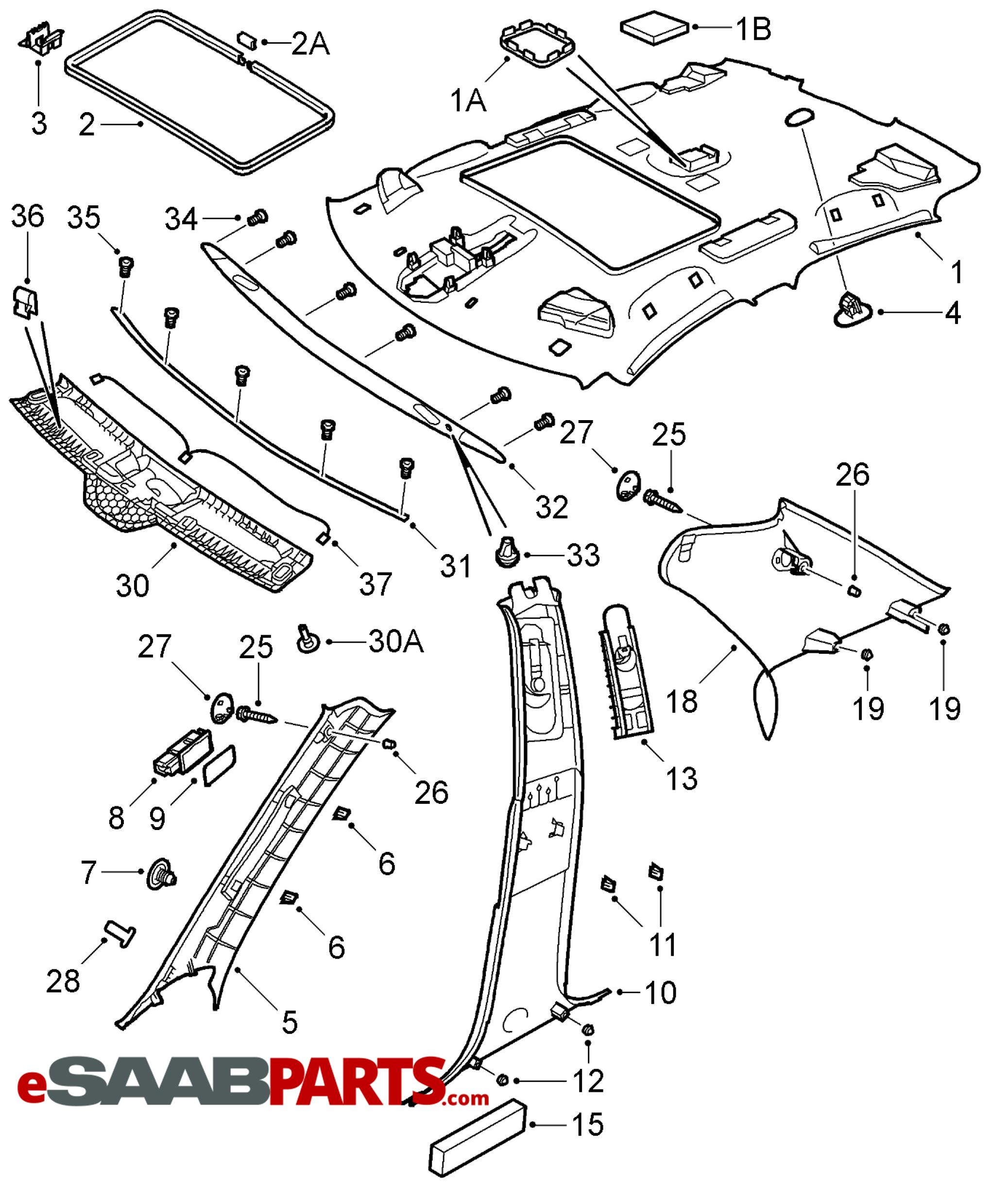 car pillar diagram