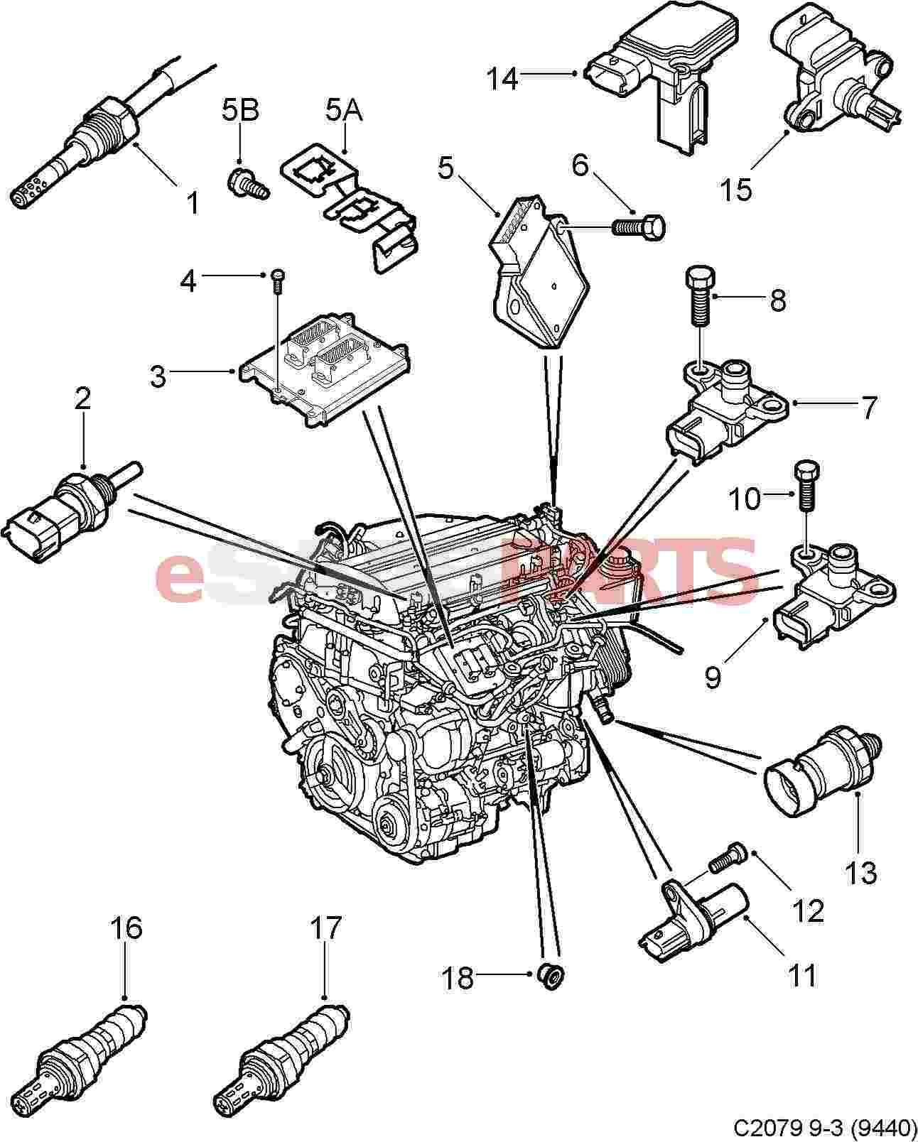 Saab 9 3 Parts Diagram - Wiring Diagram
