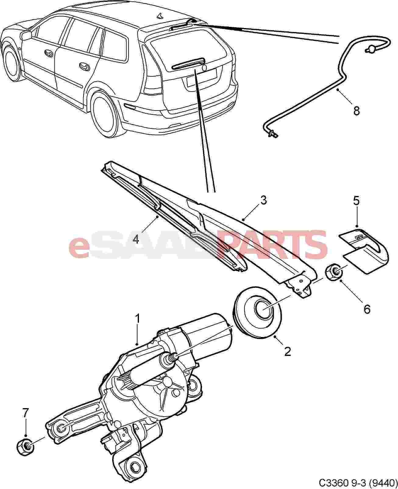Saab Windshield Washer Wiring Diagram Com
