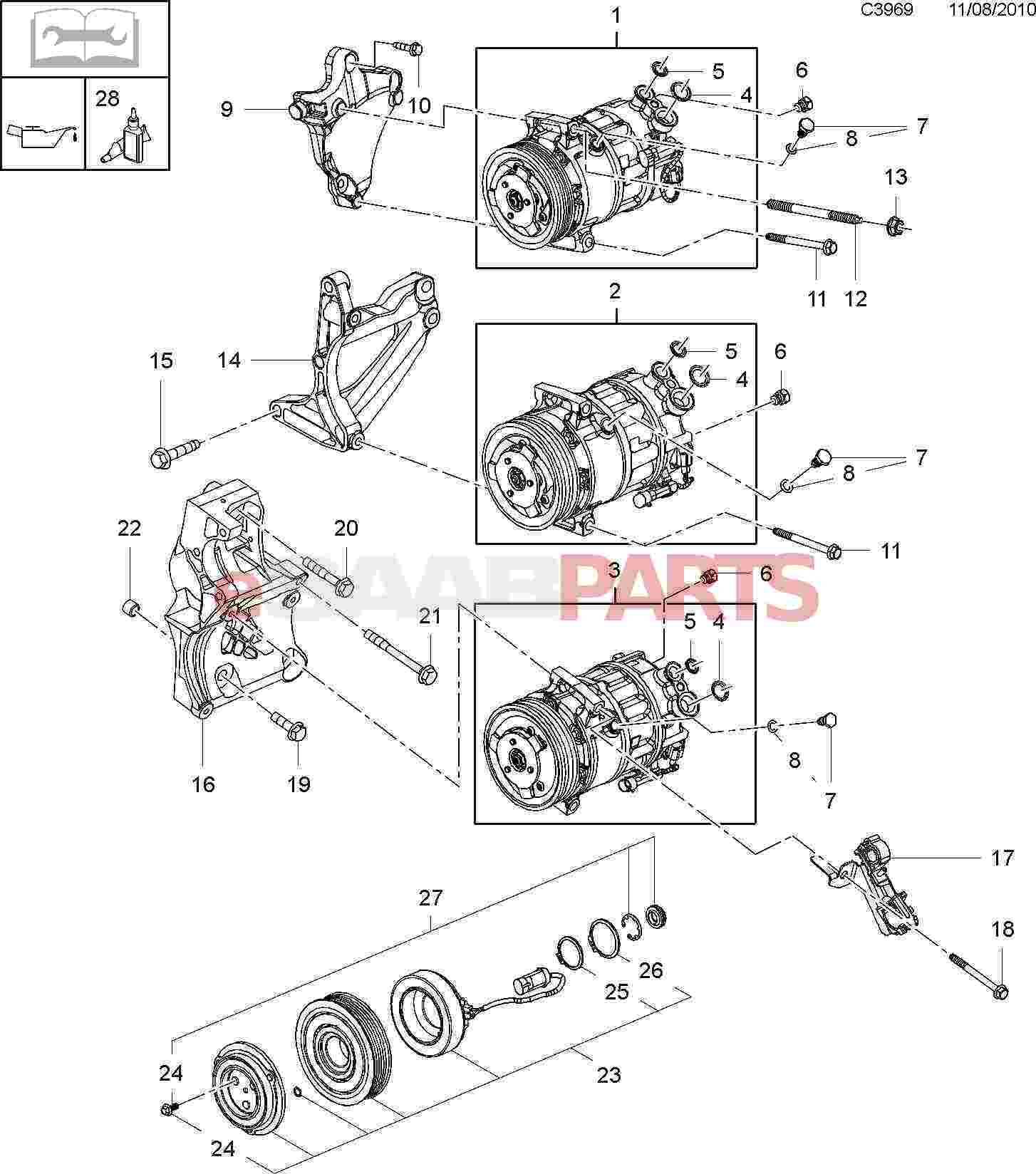 24436646     SAAB    Oring     Saab    Parts from eSaabParts