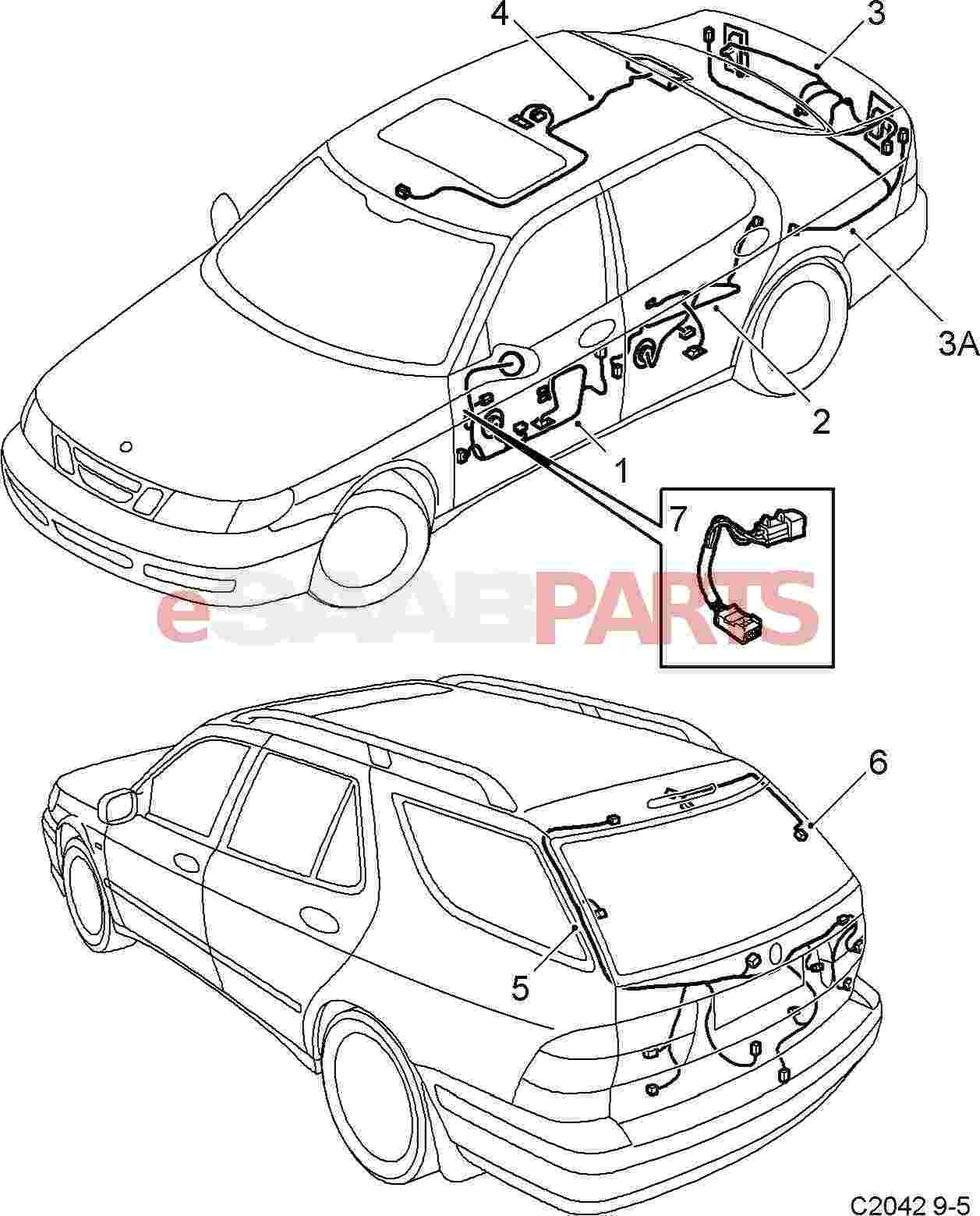 Superb Saab Tail Light Wiring Wiring Diagram Wiring Cloud Hisonuggs Outletorg
