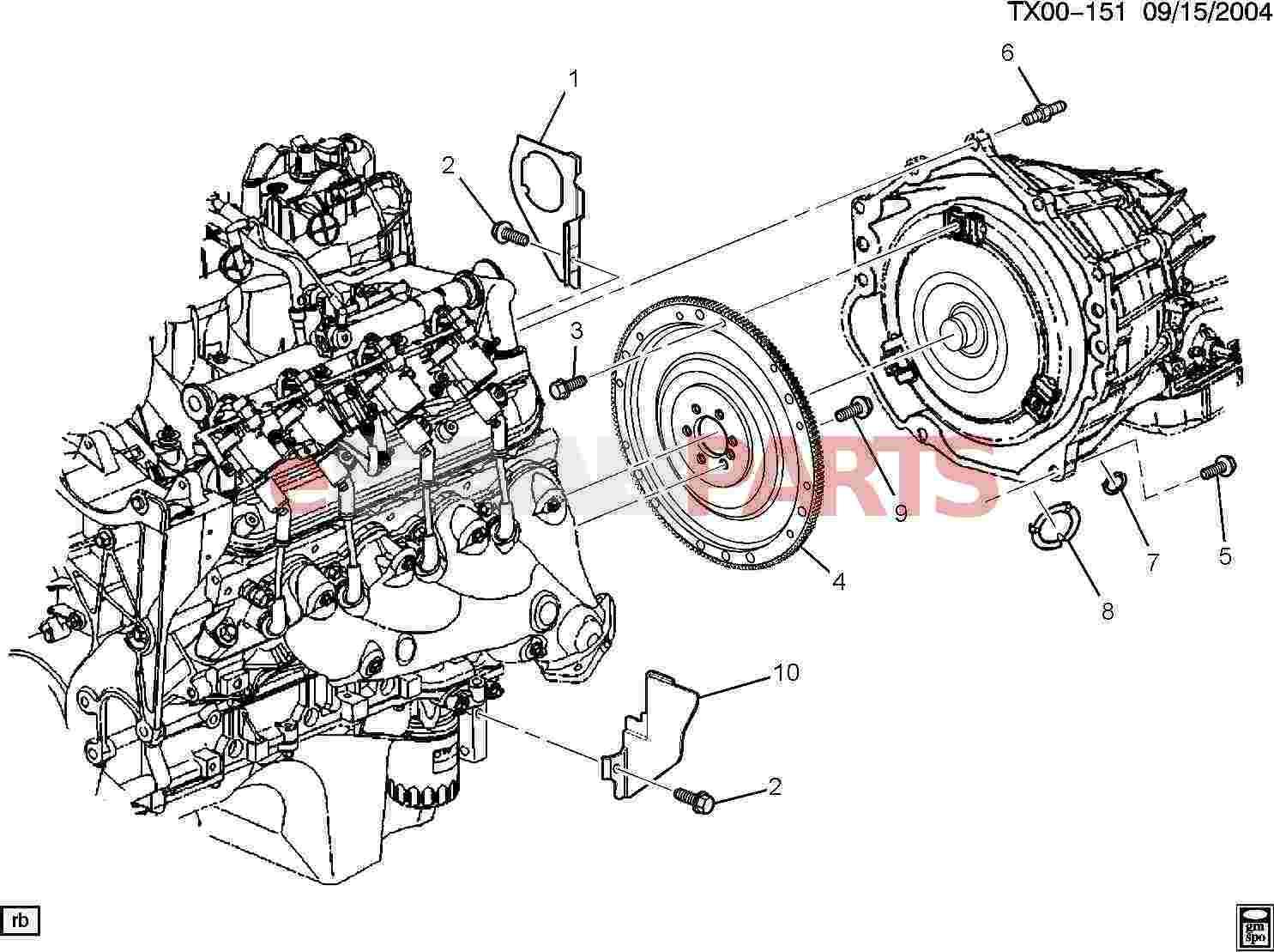 11589040  Saab Bolt  Trans T  Cv