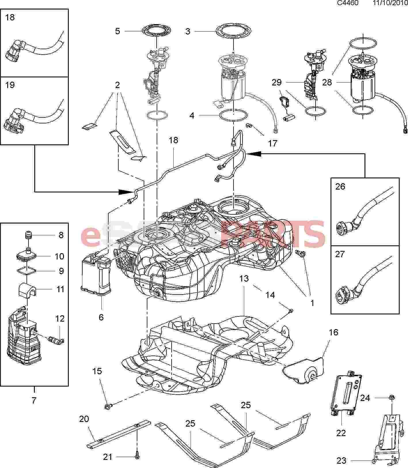 esaabparts com saab 9 5 (650) \u003e engine parts \u003e fuel system \u003e fuelesaabparts com saab 9 5 (650) \u003e engine parts \u003e fuel system \u003e fuel tank with all wheel drive (xwd)