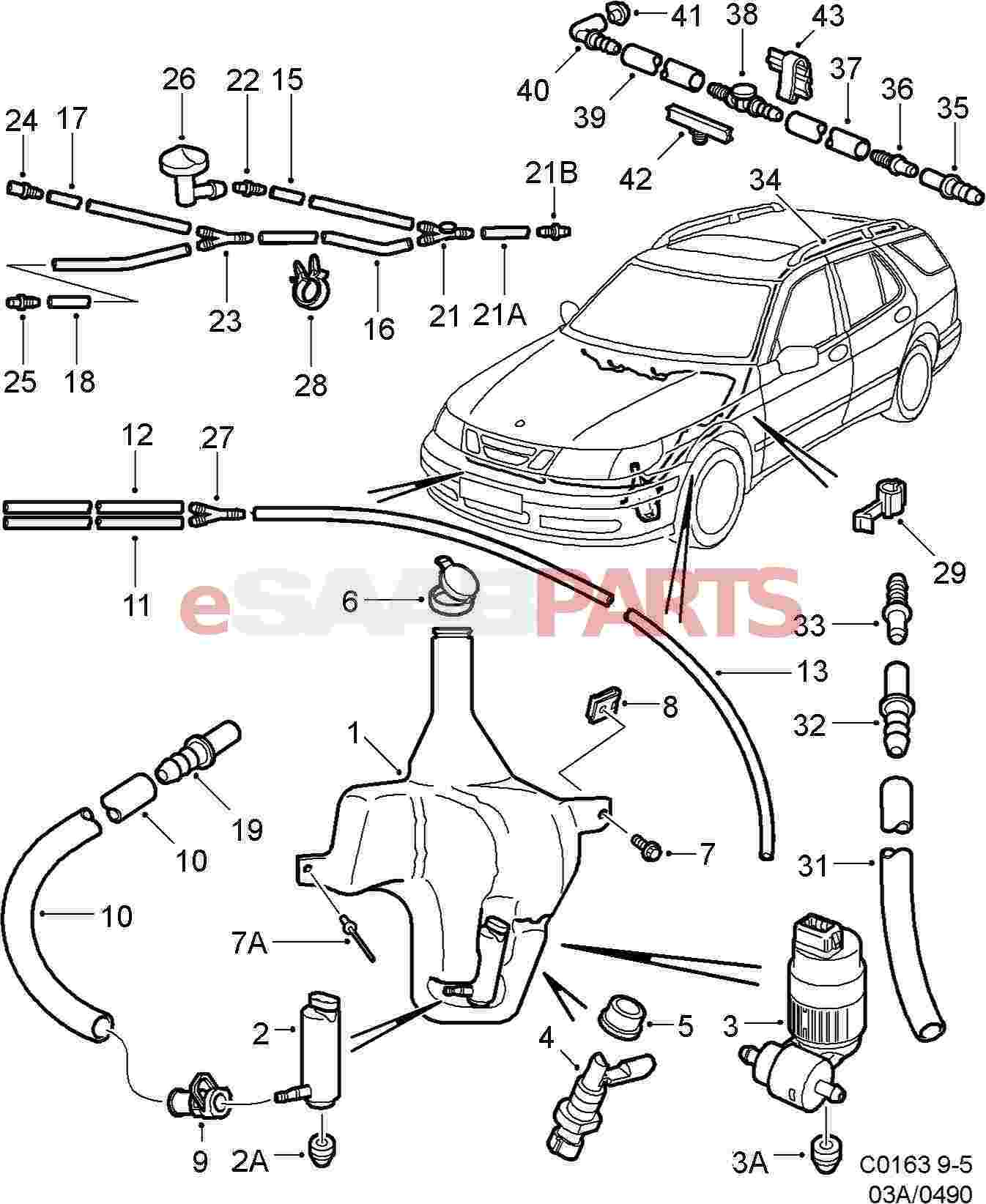 12787618 saab snap on coupling genuine saab parts from esaabparts com rh esaabparts com 2005 Saab 9-3 1999 Saab 9-3