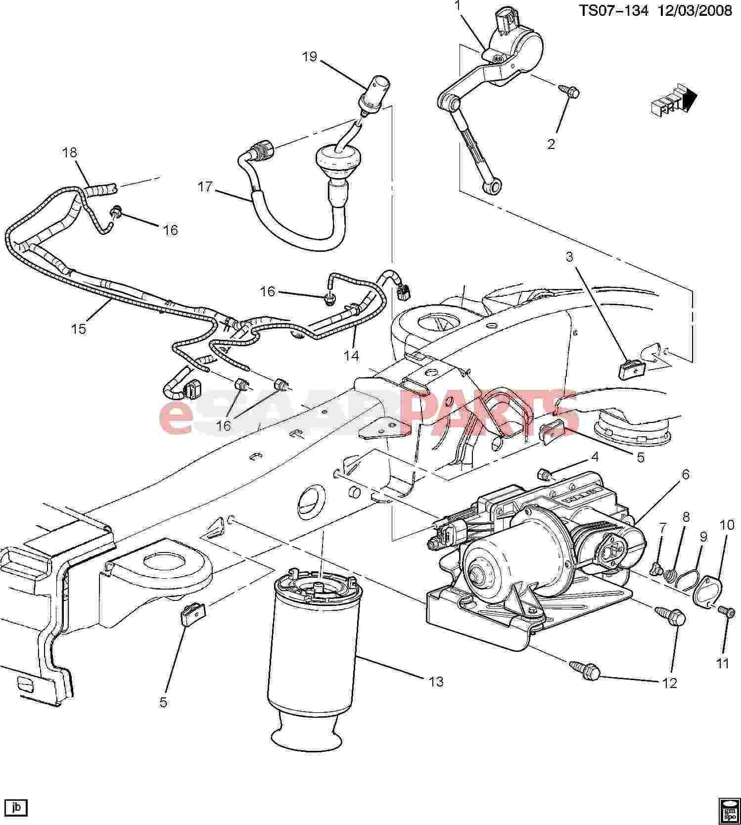 Saab 9 7x Wiring Diagram