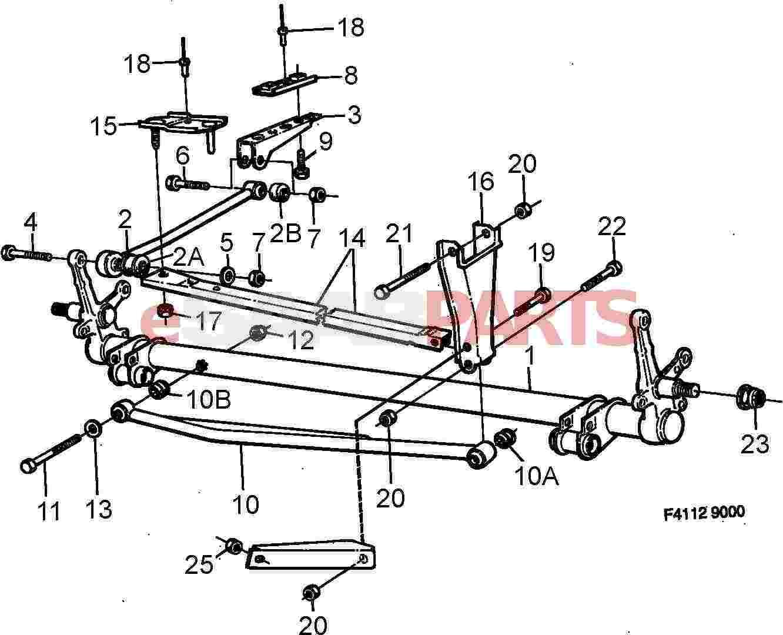 8151482] SAAB Lock Nut - Genuine Saab Parts from eSaabParts.com