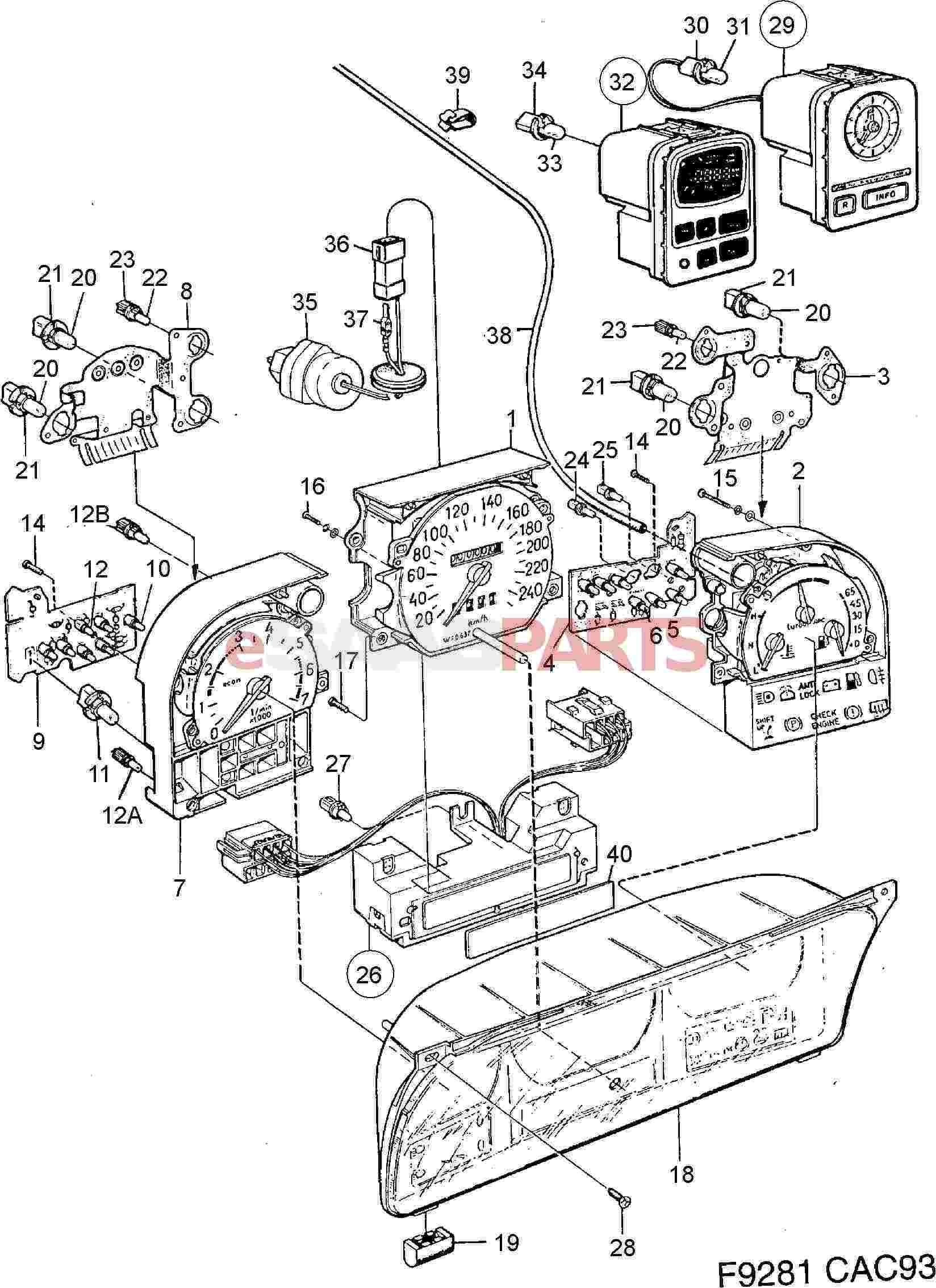 5375266  Saab Bulb Socket