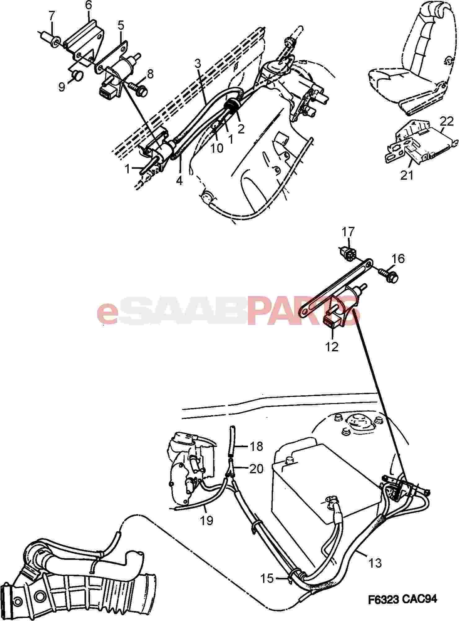 4019253  saab control valve