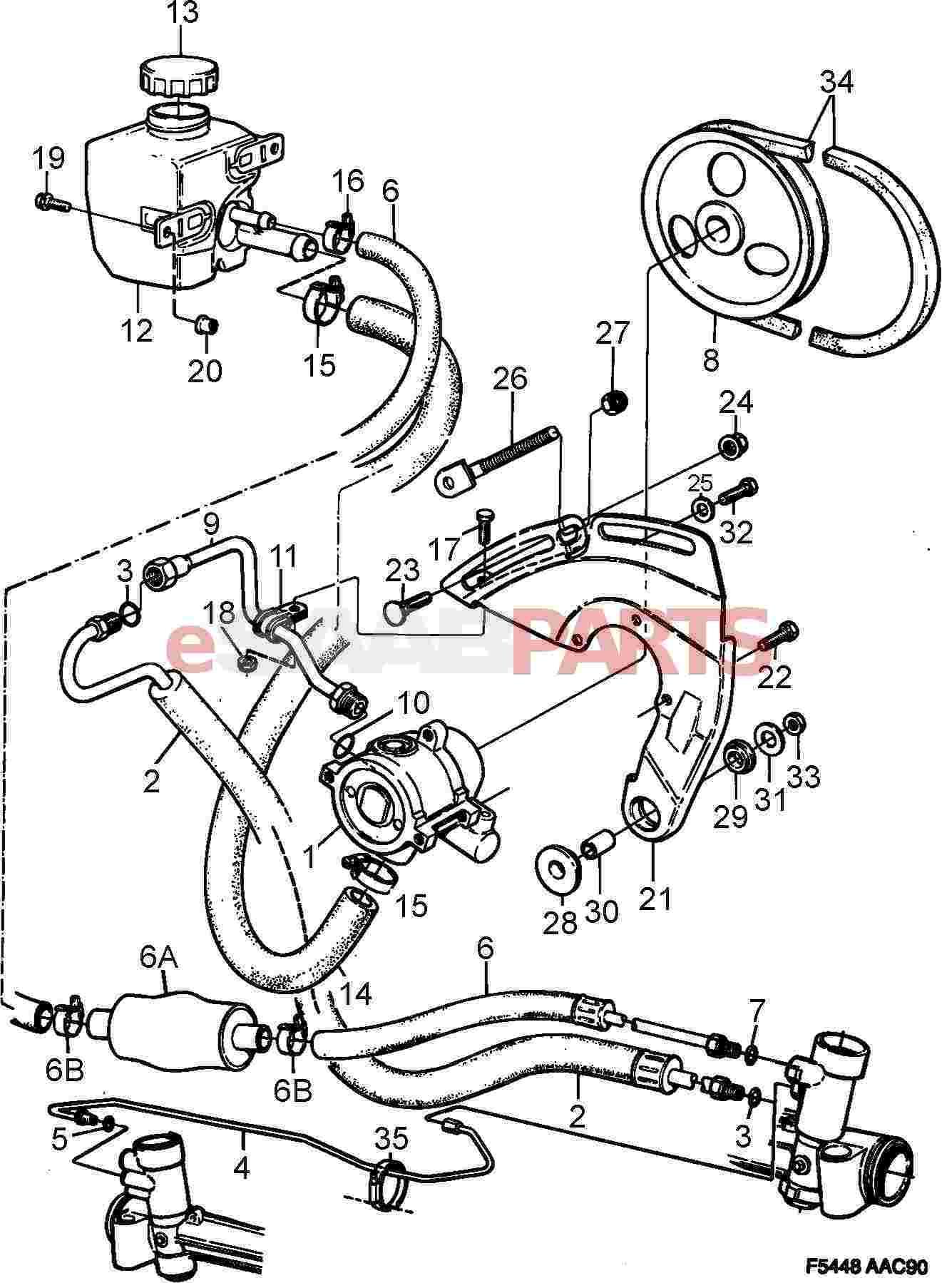 1991 saab 900 steering diagram great installation of wiring diagram 1968 Beetle Wiring Diagram esaabparts saab 900 u003e front wheel suspension parts u003e steering rh esaabparts 1991 saab