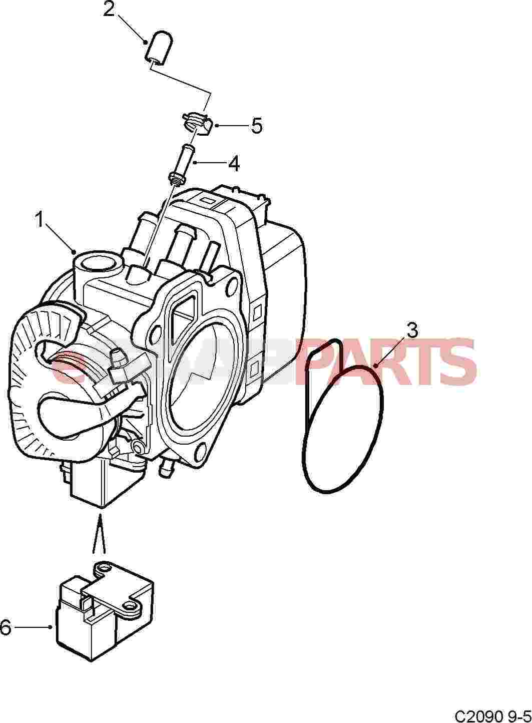 5337845     SAAB    Solenoid     Saab    Parts from eSaabParts