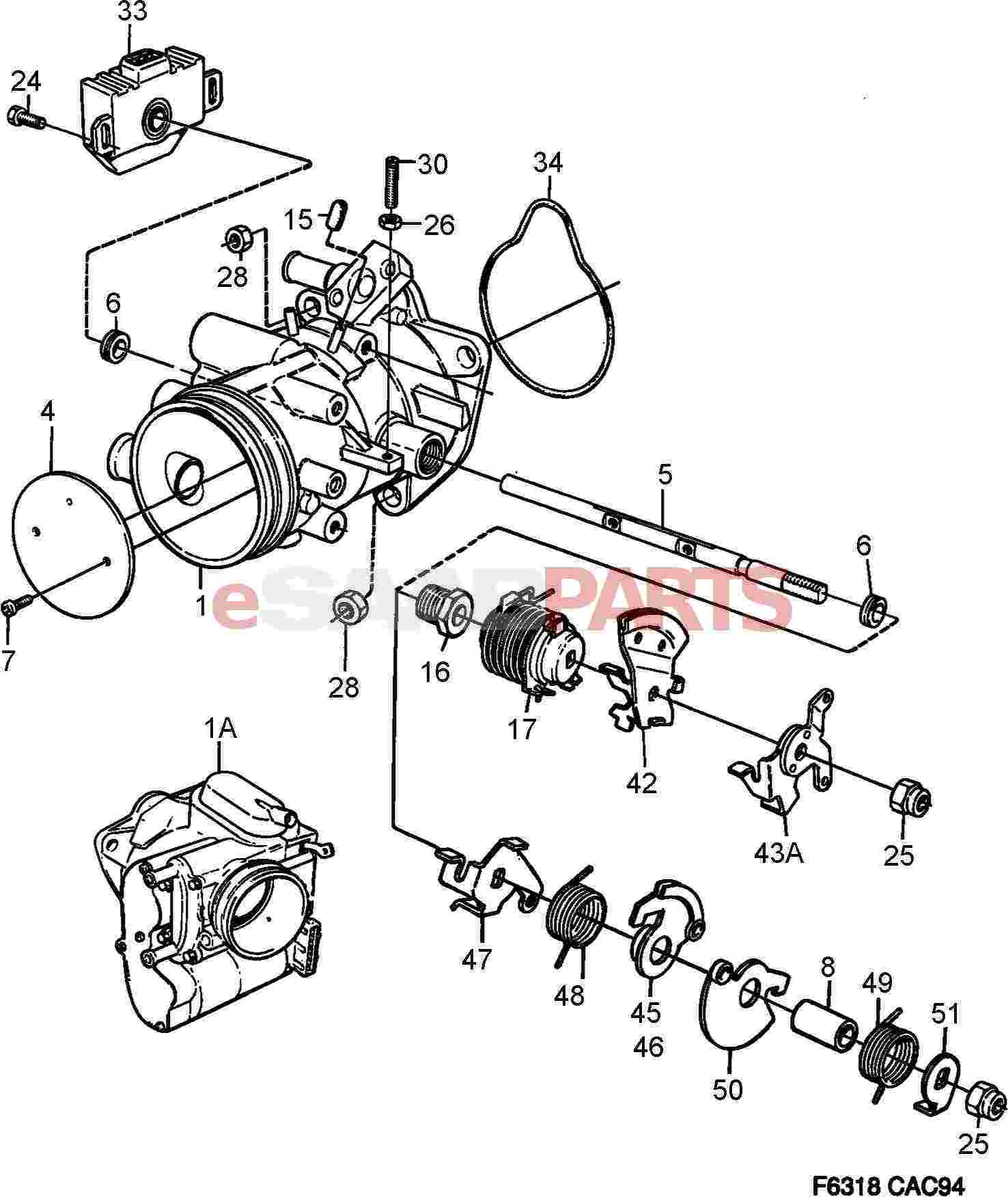 saab 900 engine parts diagram 97