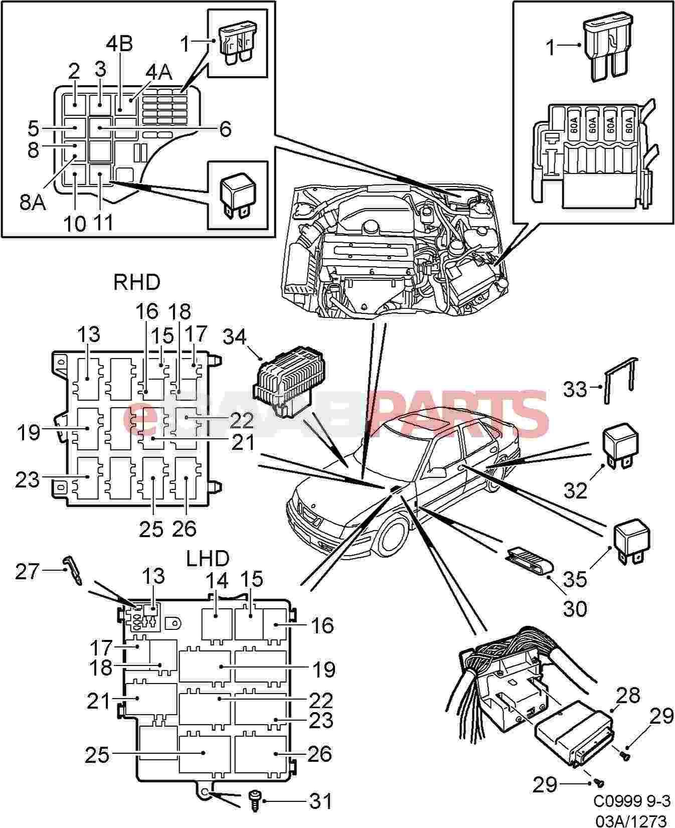 HZZP_8087 1997 Saab 9000 Cs Relay Diagram Relay Diagram ...