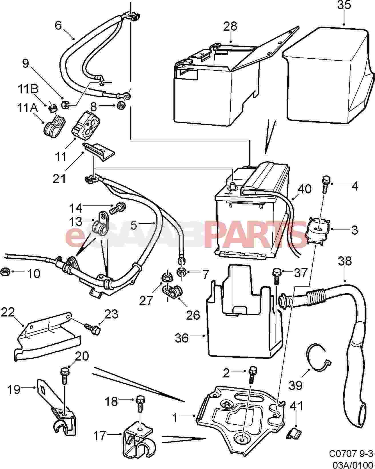 2001 Saab 9 3 Engine Diagram Just Another Wiring Blog 1999 11900513 Tie Strap Genuine Parts From Esaabparts Com Rh 20 Turbo 99 20l