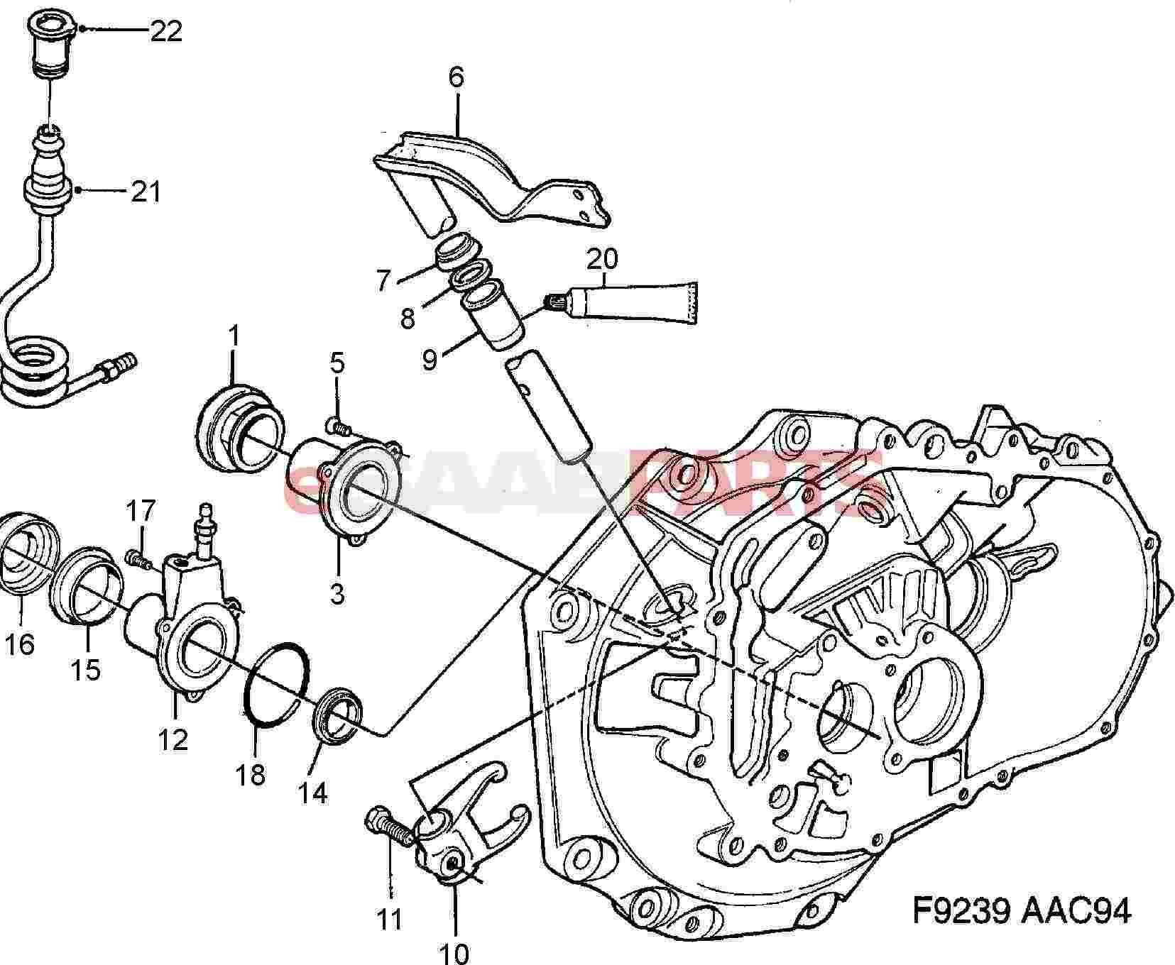 saab 900 transmission diagram wiring diagrams text Mazda Rx7 Transmission Diagram