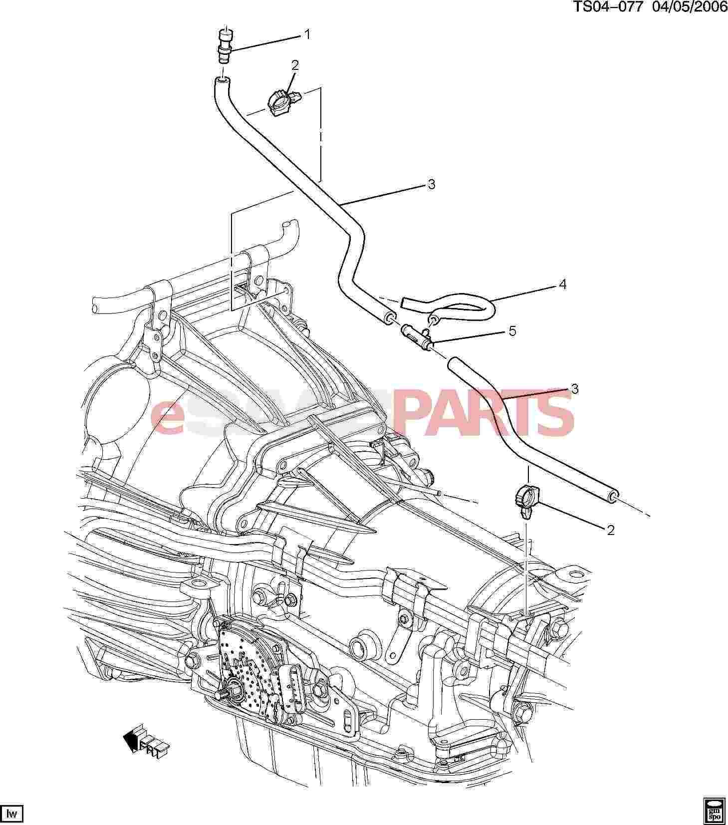 09438315 saab hose fuel oil evap genuine saab parts from rh esaabparts com Saab Automobile Saab 9 3 Transmission Mount