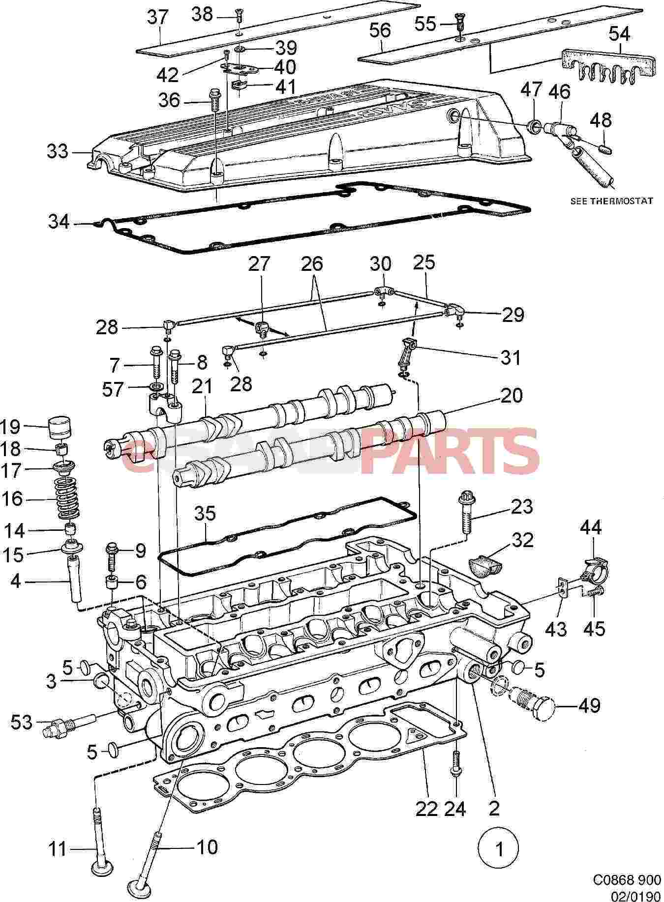 as well C B Fe also Circuit Diagram further B F F C further B F A. on 5 3l cylinder head diagram