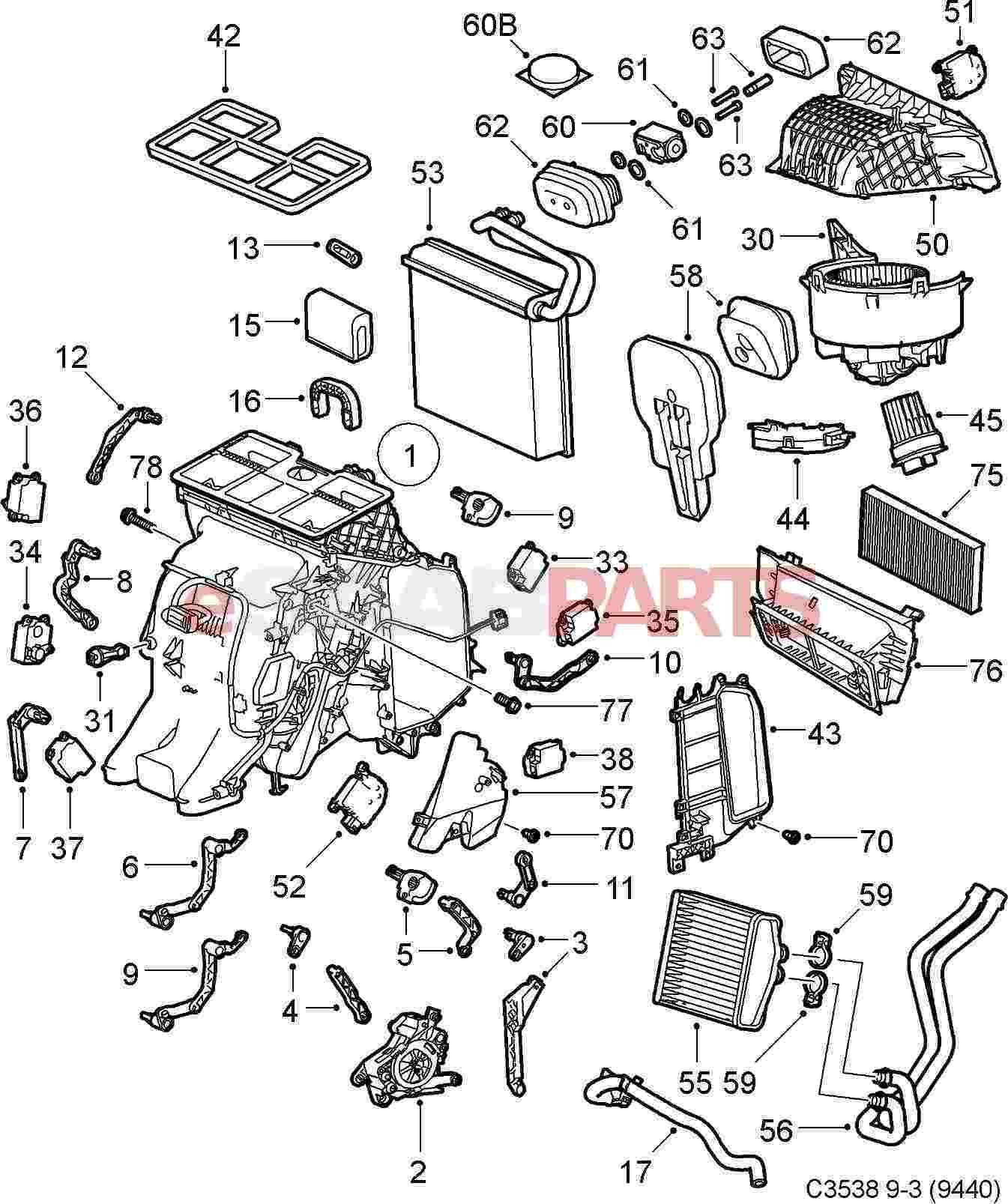 93171816  saab expansion valve